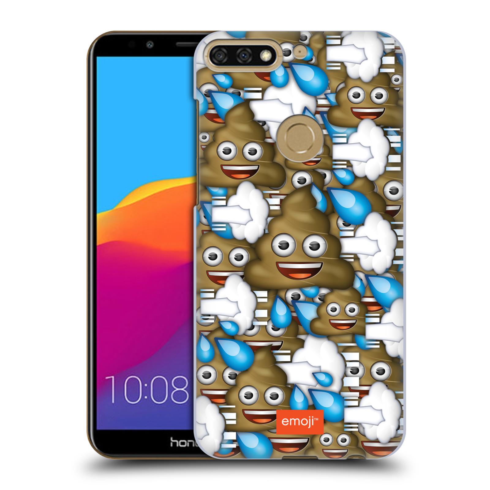 Plastové pouzdro na mobil Huawei Y7 Prime 2018 - Head Case - EMOJI - Hovínka a prdíky