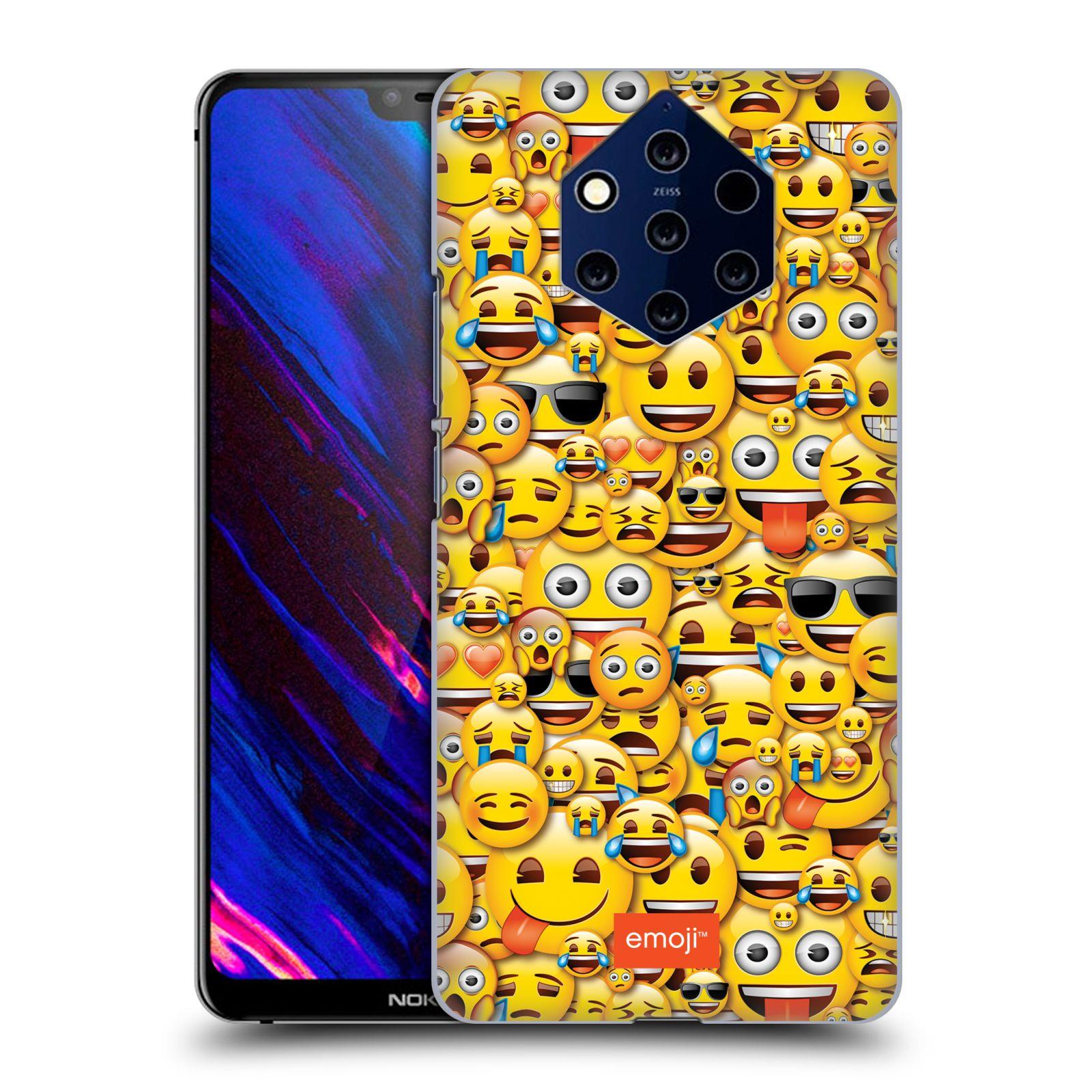 Plastové pouzdro na mobil Nokia 9 PureView - Head Case - EMOJI - Mnoho malých smajlíků