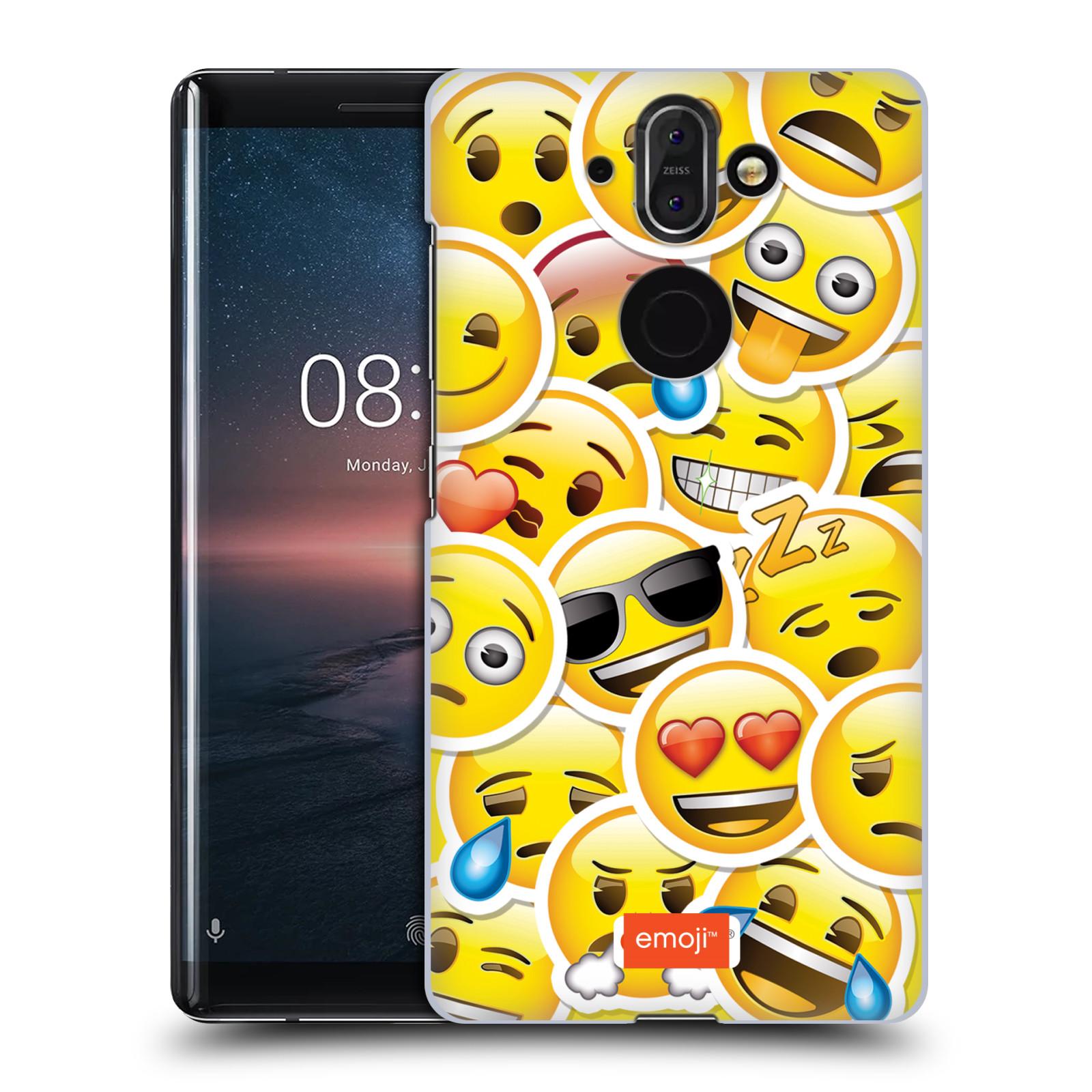 Plastové pouzdro na mobil Nokia 8 Sirocco - Head Case - EMOJI - Velcí smajlíci ZZ