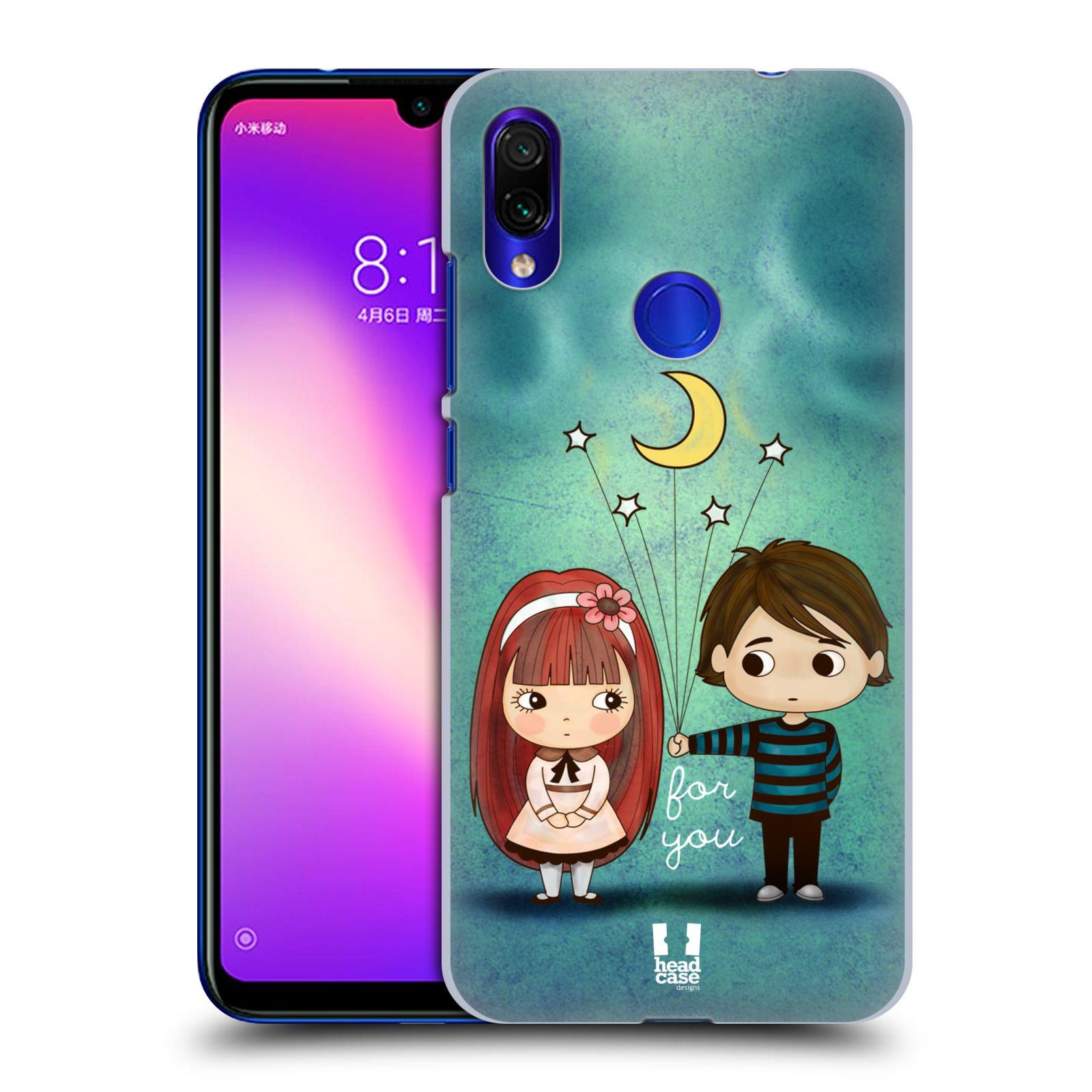 Plastové pouzdro na mobil Xiaomi Redmi Note 7 - Head Case - Emo Love při Měsíčku