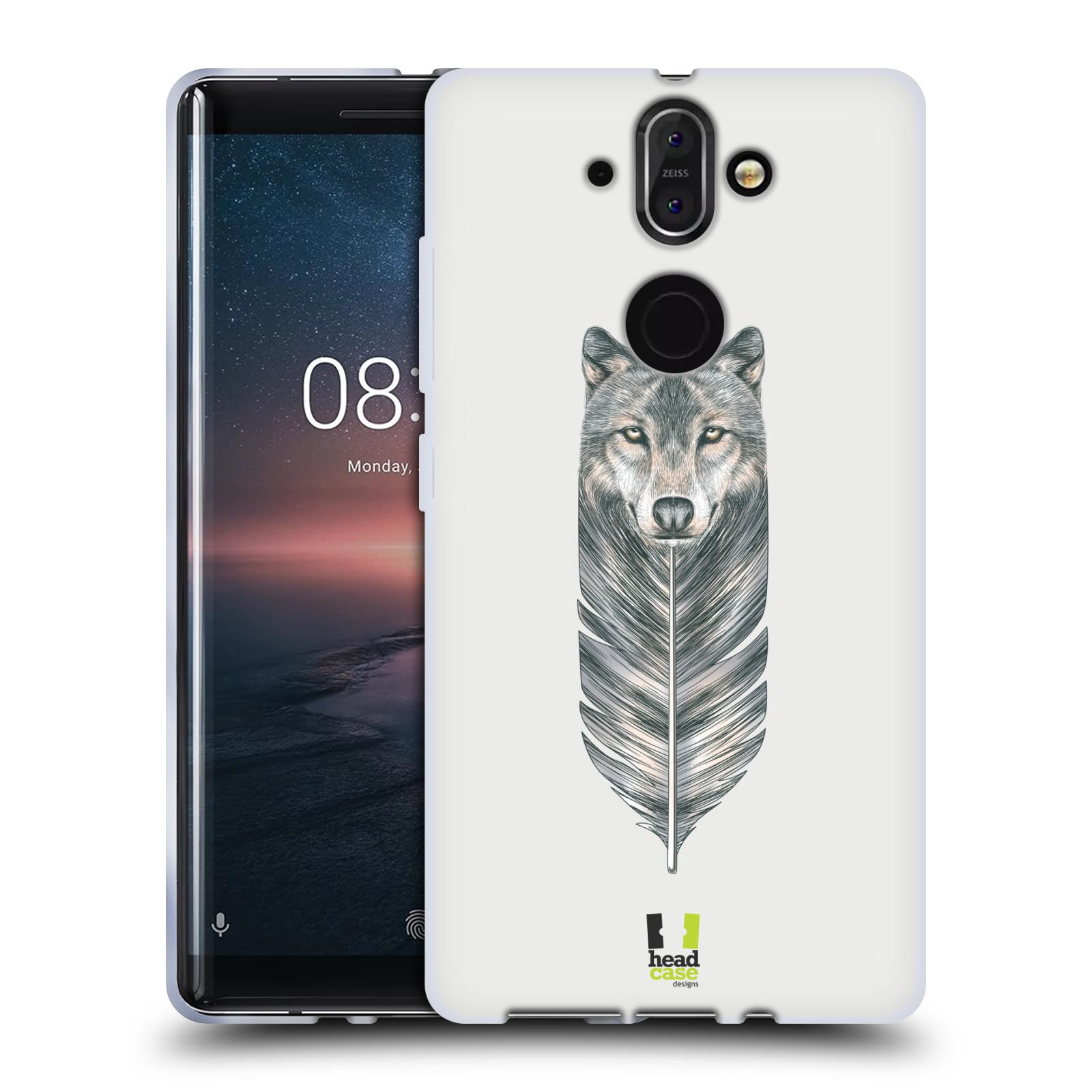 Silikonové pouzdro na mobil Nokia 8 Sirocco - Head Case - PÍRKO VLK (Silikonový kryt či obal na mobilní telefon Nokia 8 Sirocco s motivem PÍRKO VLK)