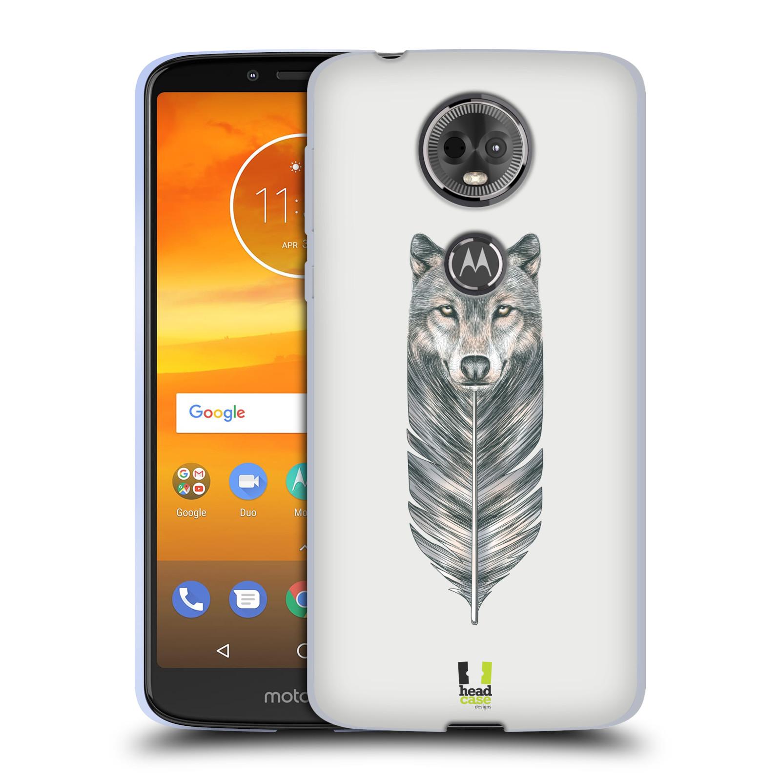 Silikonové pouzdro na mobil Motorola Moto E5 Plus - Head Case - PÍRKO VLK (Silikonový kryt či obal na mobilní telefon Lenovo Moto E5 Plus s motivem PÍRKO VLK)