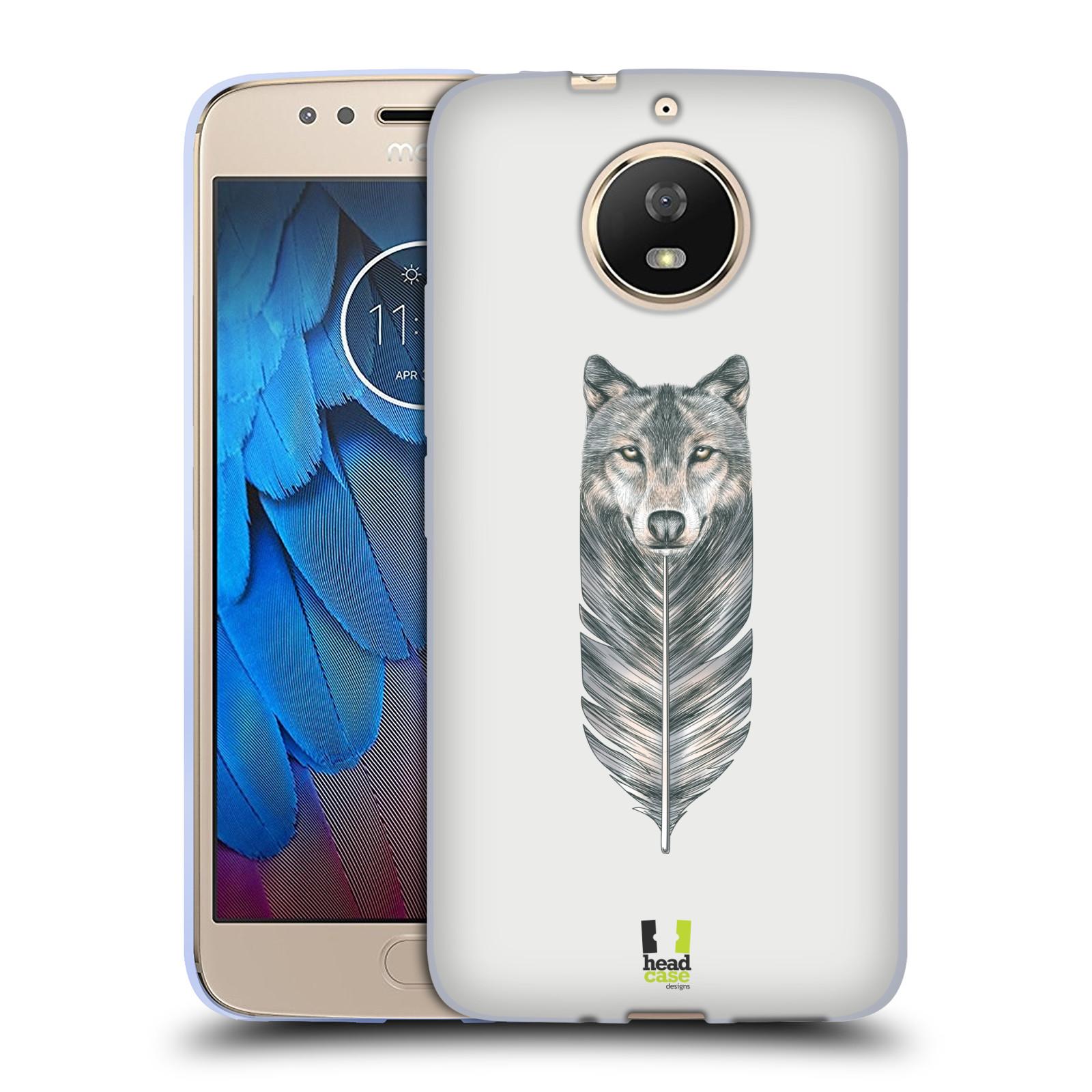 Silikonové pouzdro na mobil Lenovo Moto G5s - Head Case - PÍRKO VLK (Silikonový kryt či obal na mobilní telefon (Motorola) Lenovo Moto G5s s motivem PÍRKO VLK)