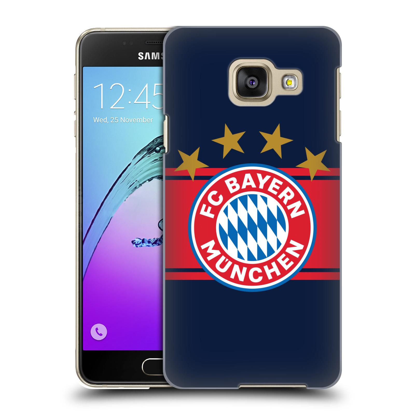 Plastové pouzdro na mobil Samsung Galaxy A3 (2016) - Head Case - FC Bayern Mnichov - Venkovní dres
