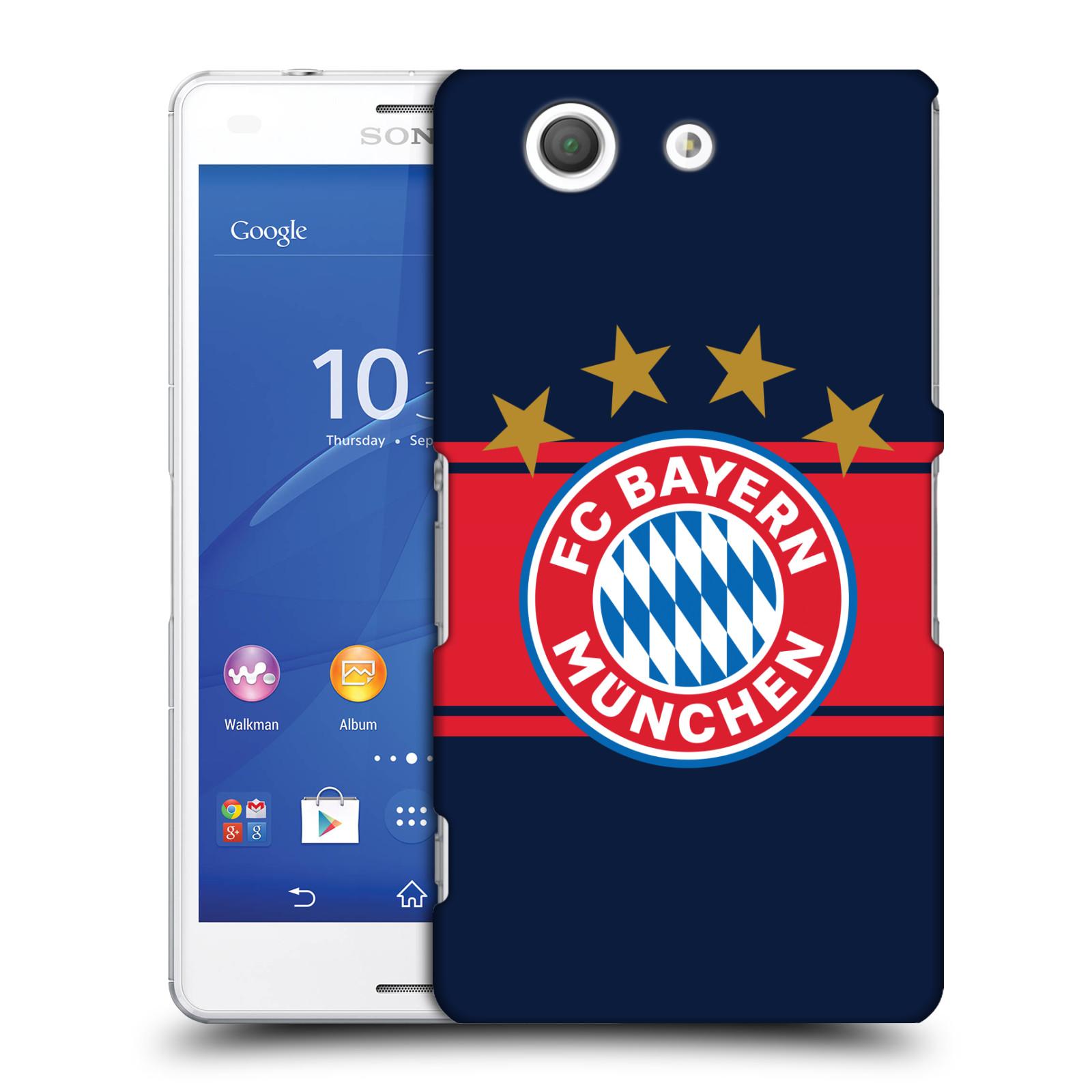 Plastové pouzdro na mobil Sony Xperia Z3 Compact D5803 - Head Case - FC Bayern Mnichov - Venkovní dres