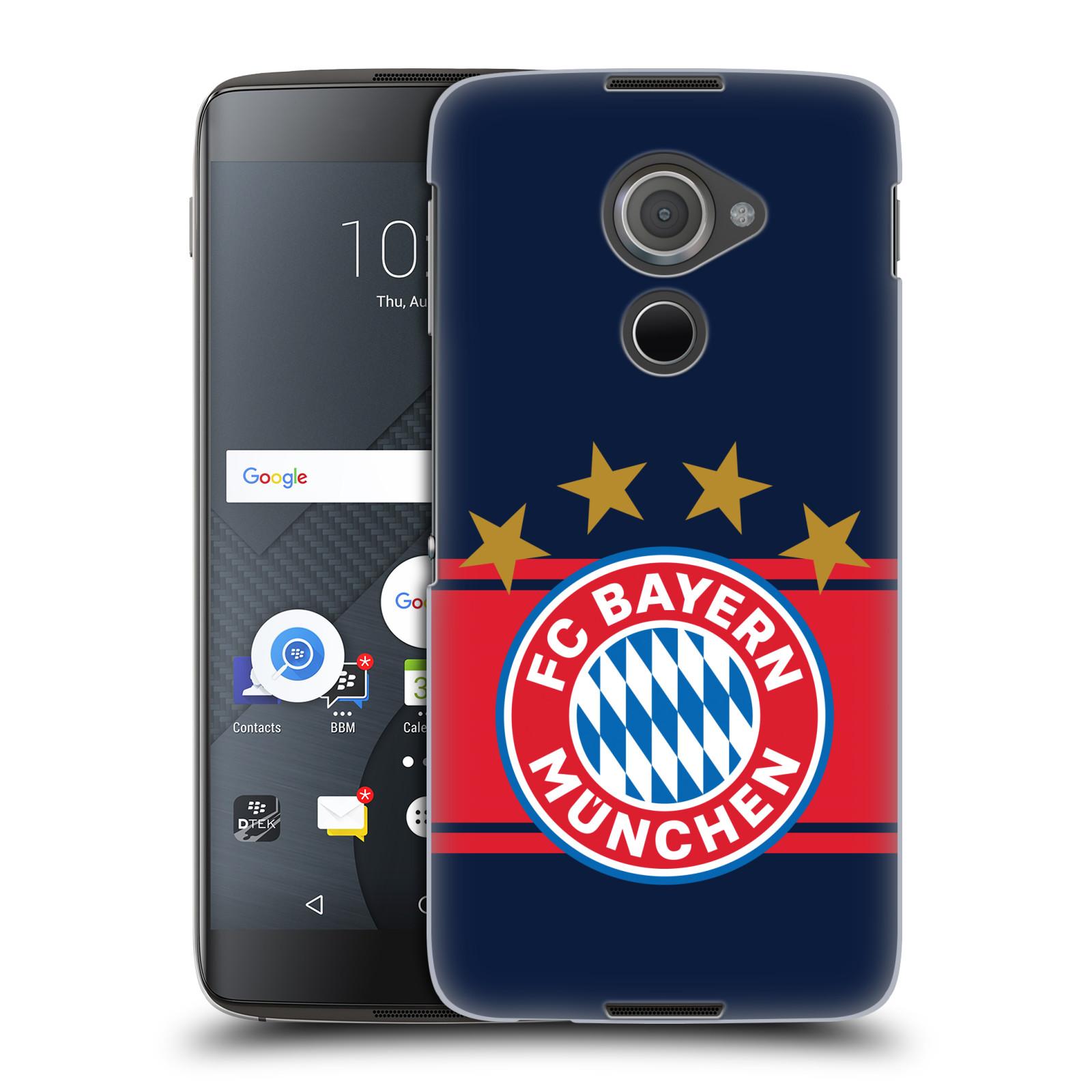 Plastové pouzdro na mobil Blackberry DTEK60 (Argon) - Head Case - FC Bayern Mnichov - Venkovní dres