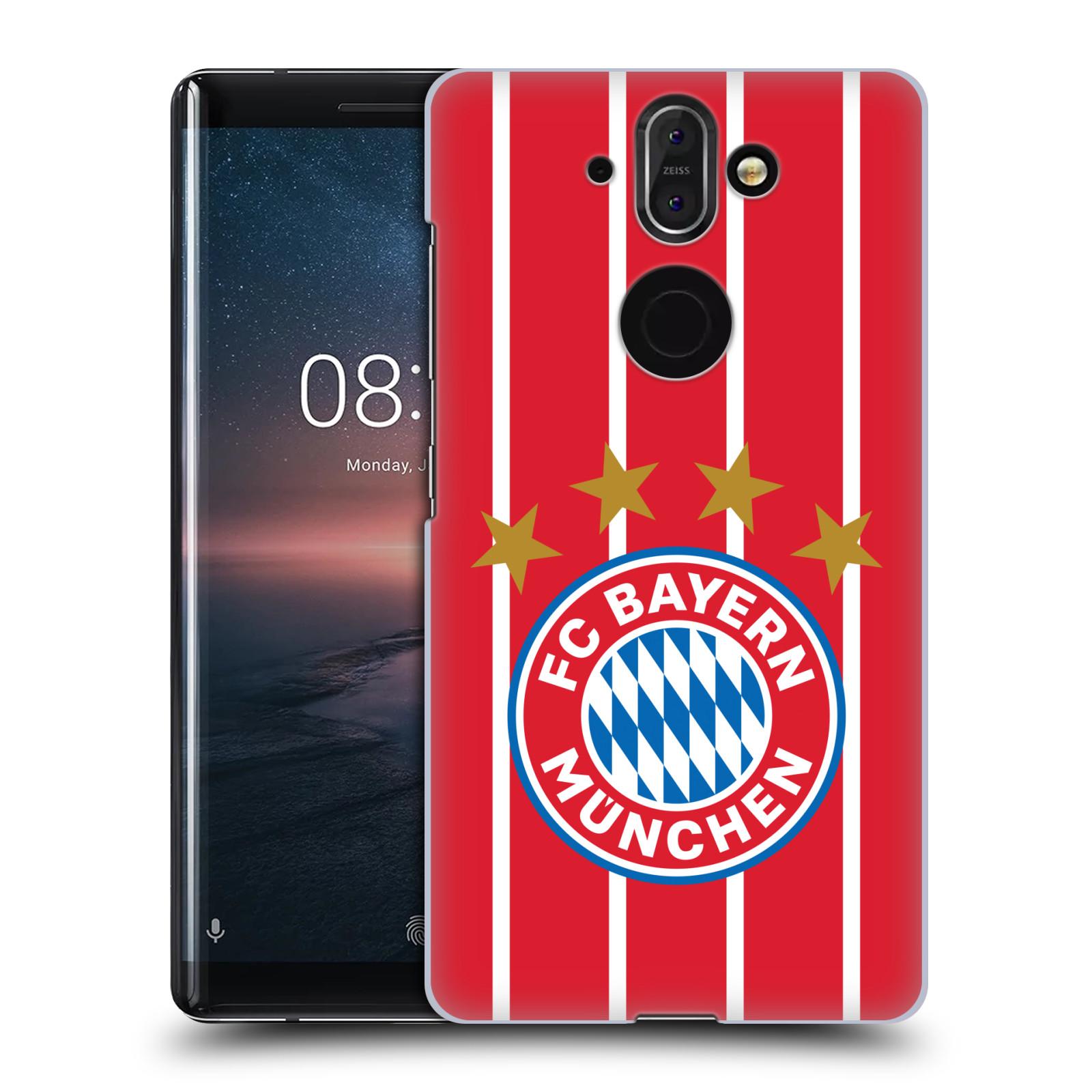 Plastové pouzdro na mobil Nokia 8 Sirocco - Head Case - FC Bayern Mnichov - Domácí dres