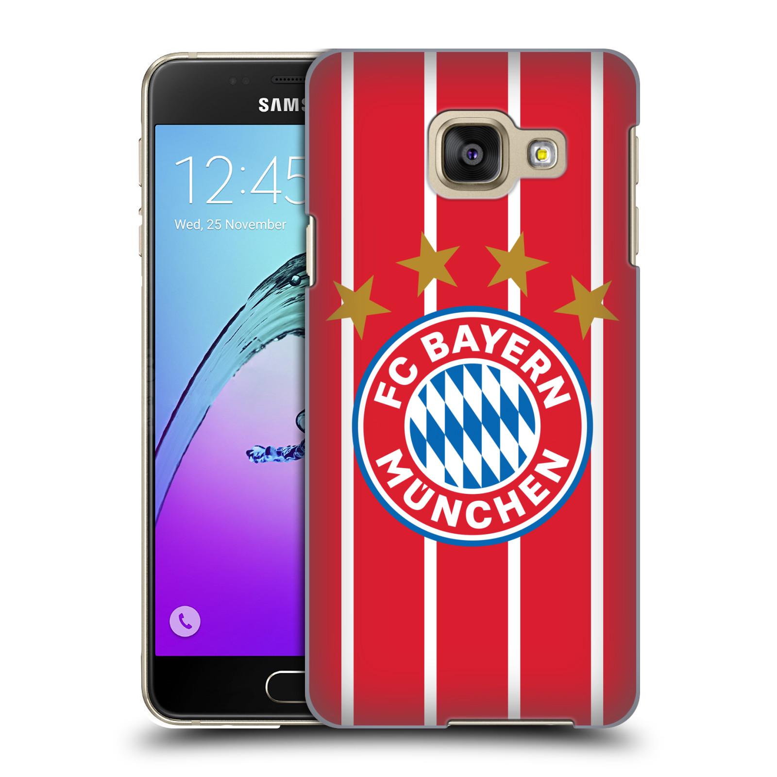 Plastové pouzdro na mobil Samsung Galaxy A3 (2016) - Head Case - FC Bayern Mnichov - Domácí dres