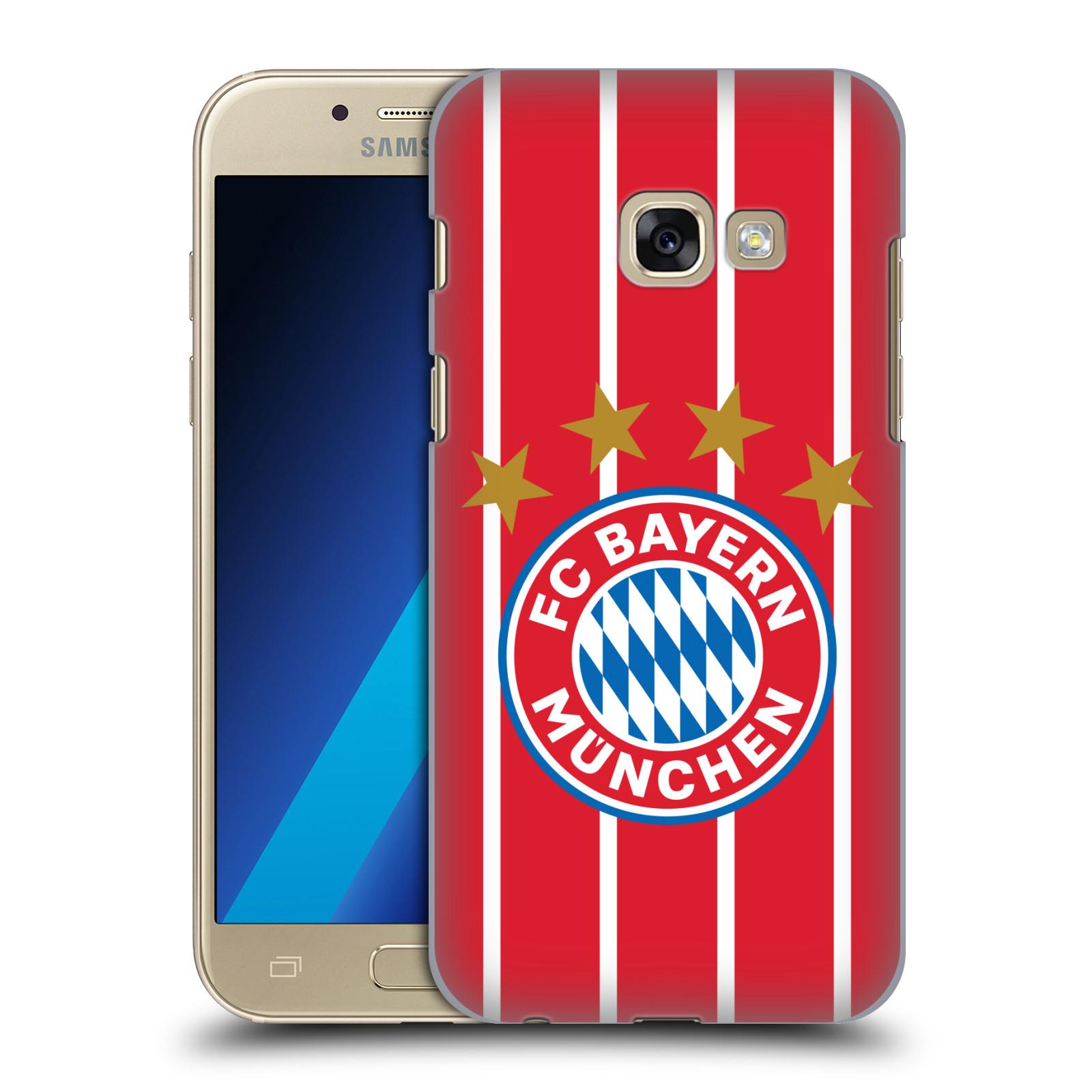 Plastové pouzdro na mobil Samsung Galaxy A3 (2017) - Head Case - FC Bayern Mnichov - Domácí dres