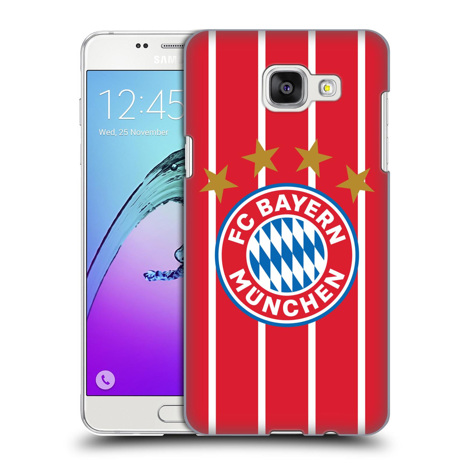 Plastové pouzdro na mobil Samsung Galaxy A5 (2016) - Head Case - FC Bayern Mnichov - Domácí dres