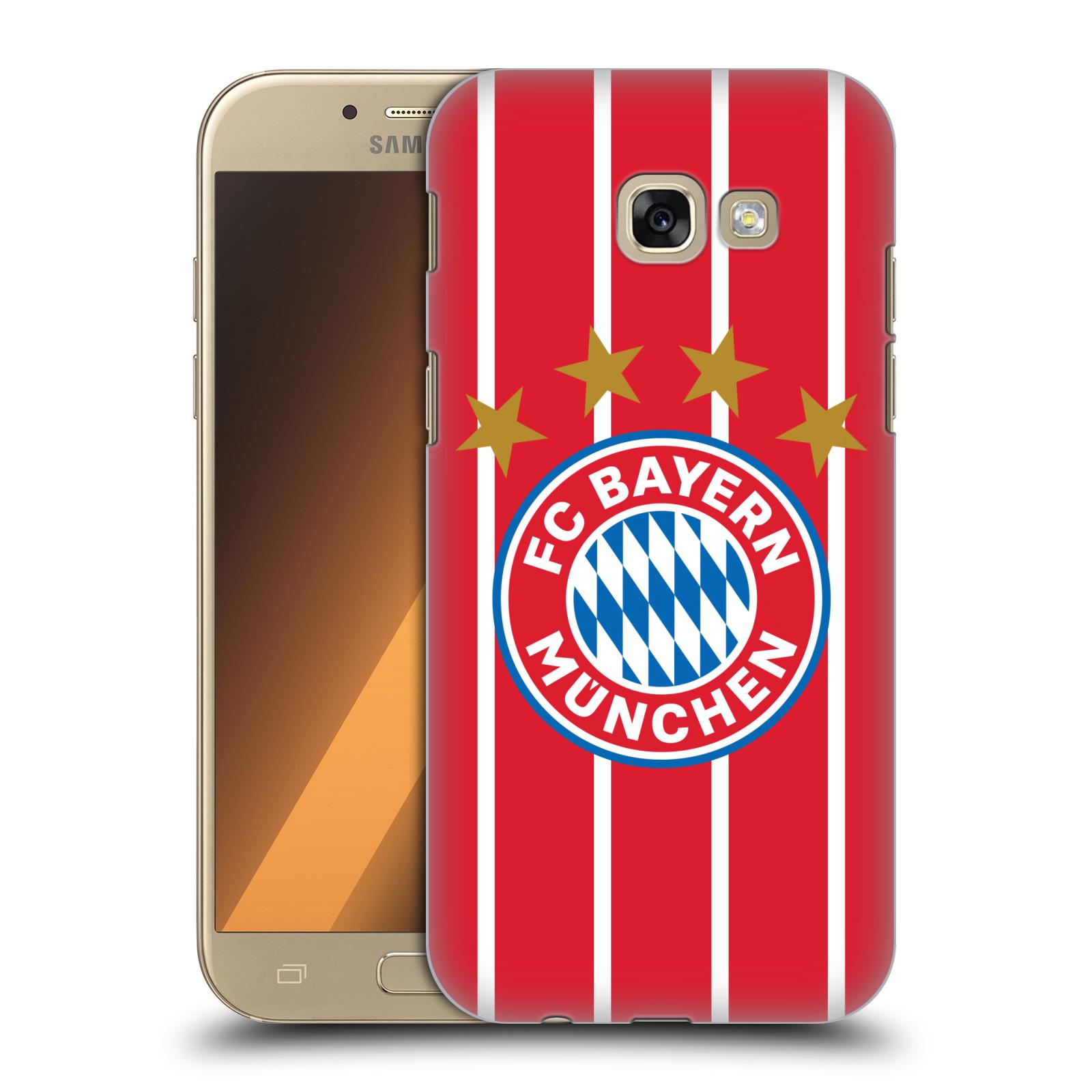 Plastové pouzdro na mobil Samsung Galaxy A5 (2017) - Head Case - FC Bayern Mnichov - Domácí dres