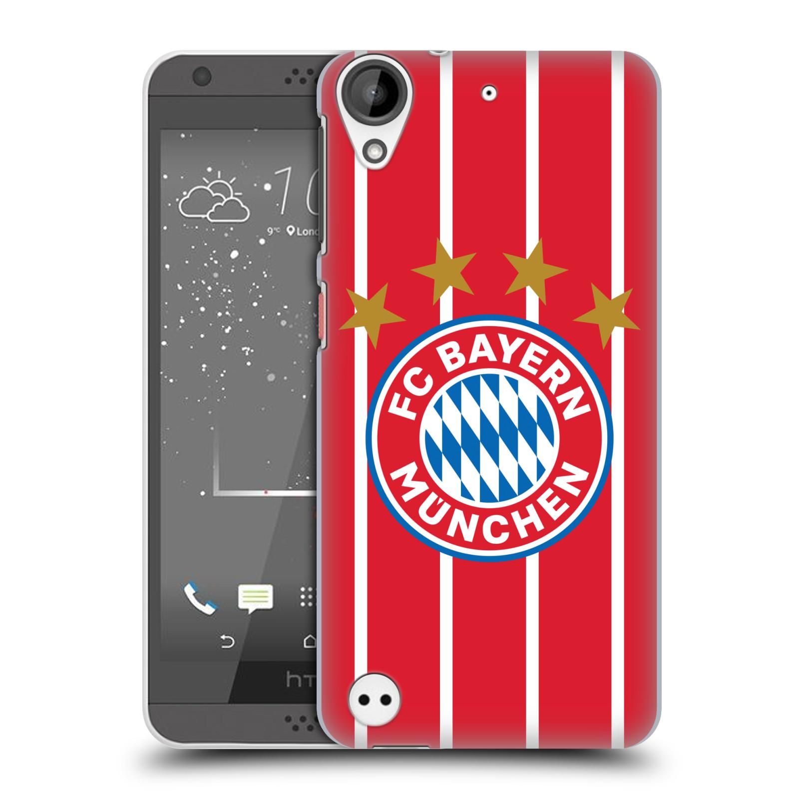 Plastové pouzdro na mobil HTC Desire 530 - Head Case - FC Bayern Mnichov - Domácí dres