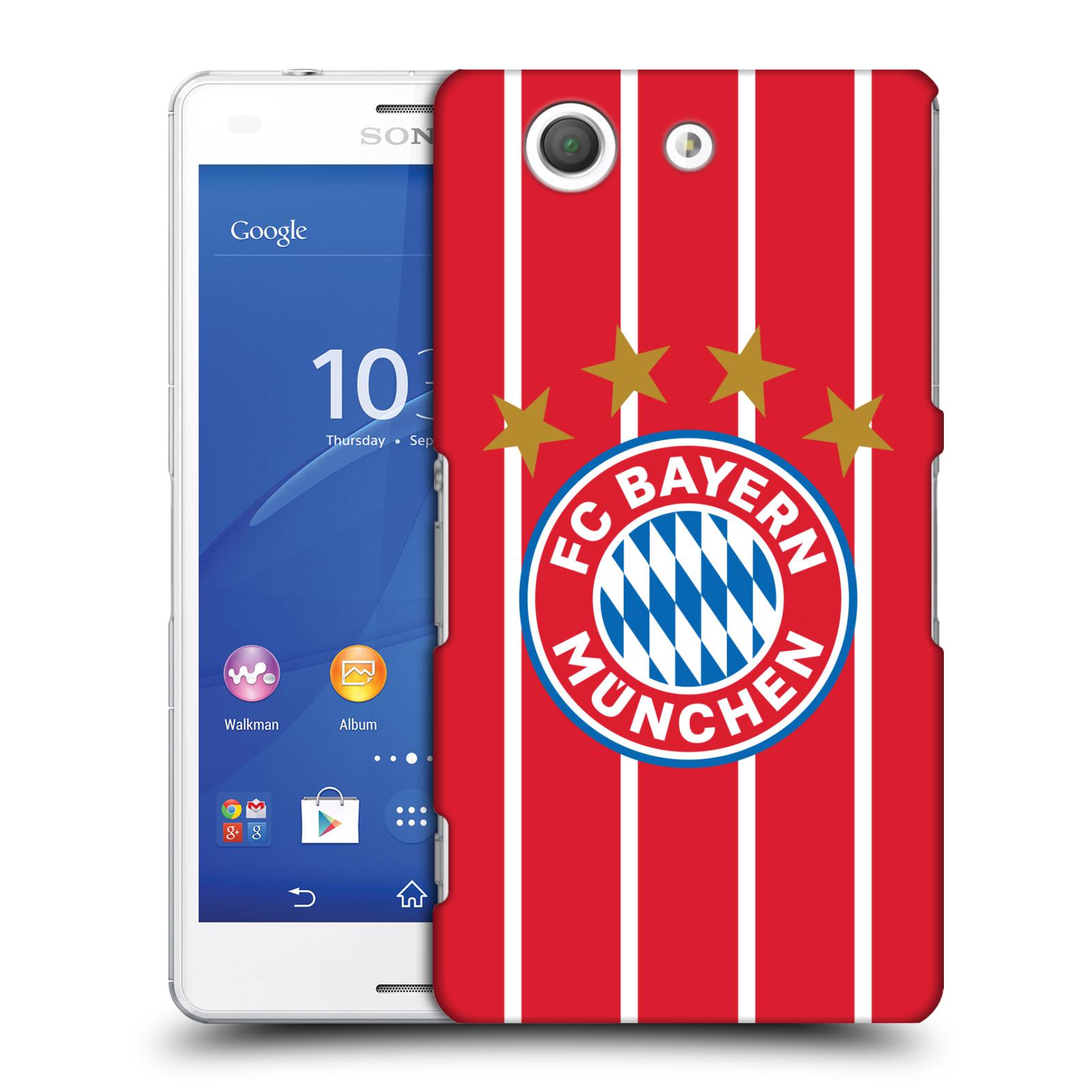 Plastové pouzdro na mobil Sony Xperia Z3 Compact D5803 - Head Case - FC Bayern Mnichov - Domácí dres