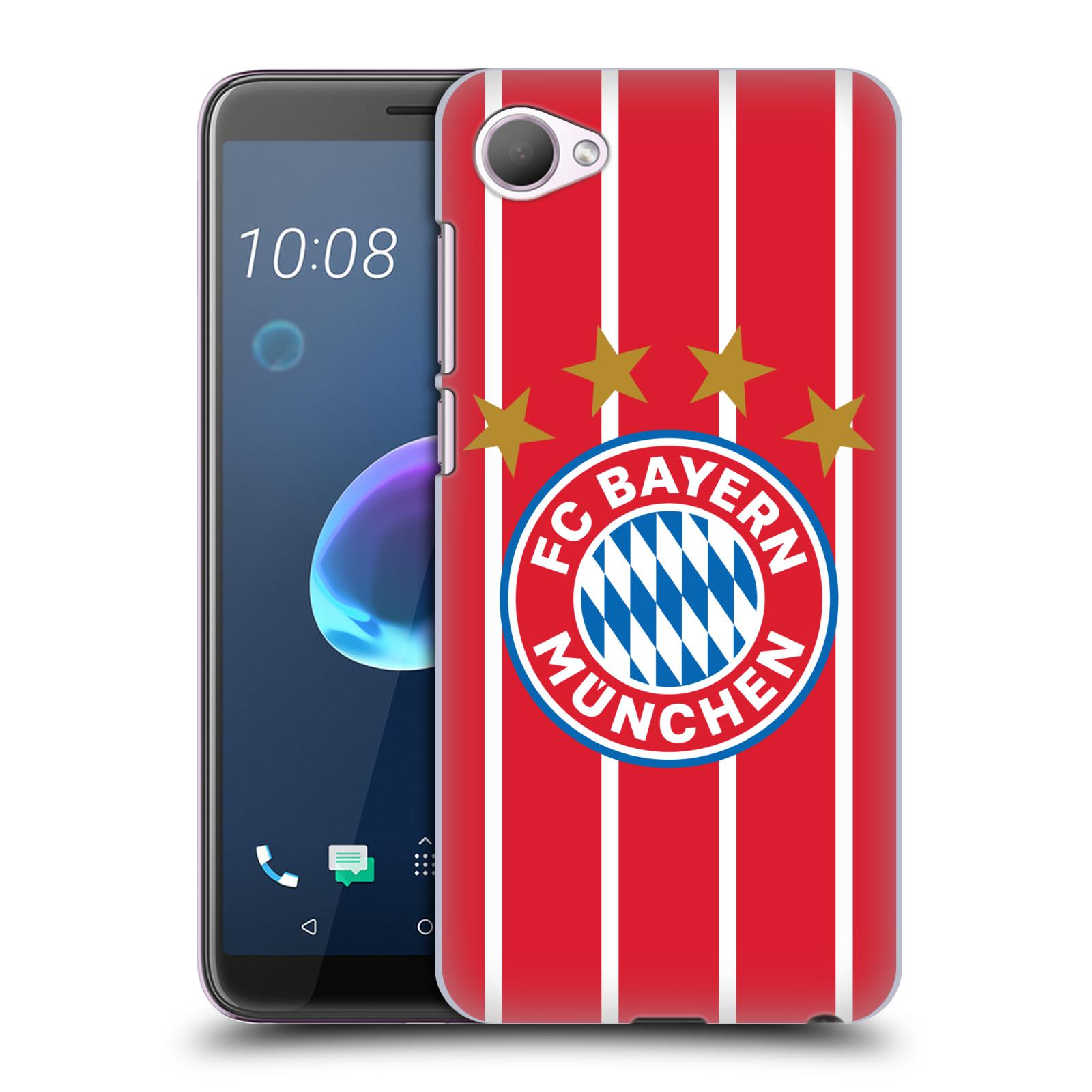 Plastové pouzdro na mobil HTC Desire 12 - Head Case - FC Bayern Mnichov - Domácí dres