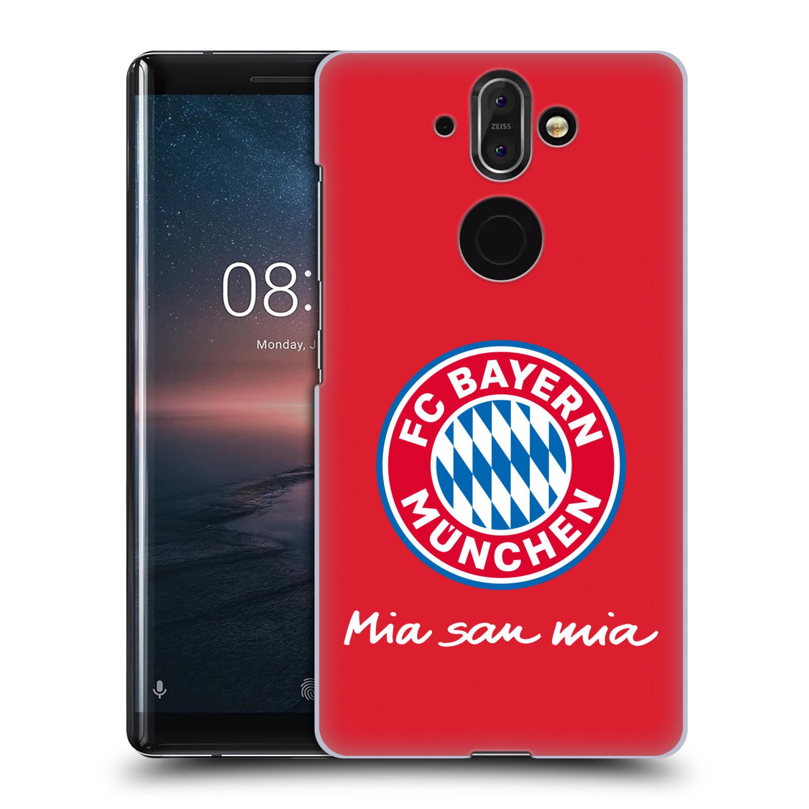 Plastové pouzdro na mobil Nokia 8 Sirocco - Head Case - FC Bayern Mnichov - Mia san mia