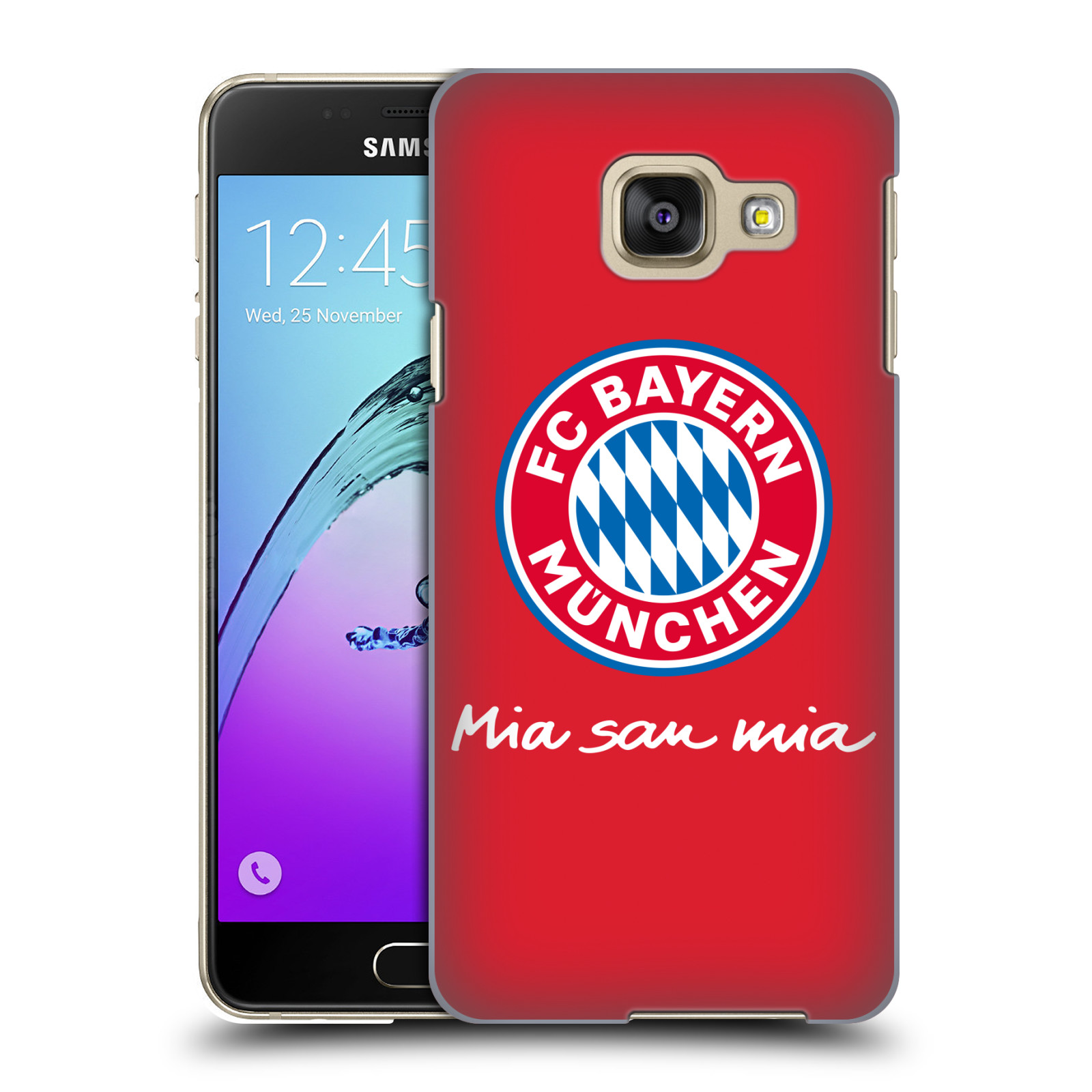 Plastové pouzdro na mobil Samsung Galaxy A3 (2016) - Head Case - FC Bayern Mnichov - Mia san mia