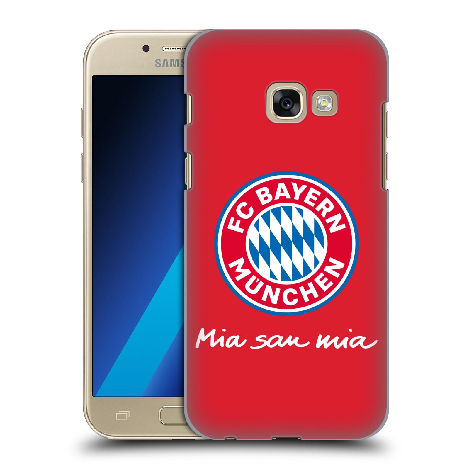 Plastové pouzdro na mobil Samsung Galaxy A3 (2017) - Head Case - FC Bayern Mnichov - Mia san mia