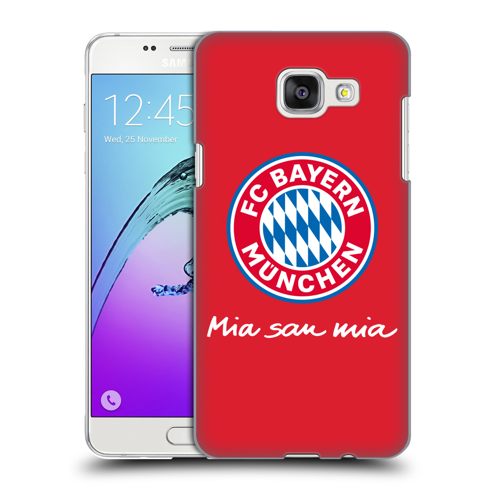 Plastové pouzdro na mobil Samsung Galaxy A5 (2016) - Head Case - FC Bayern Mnichov - Mia san mia