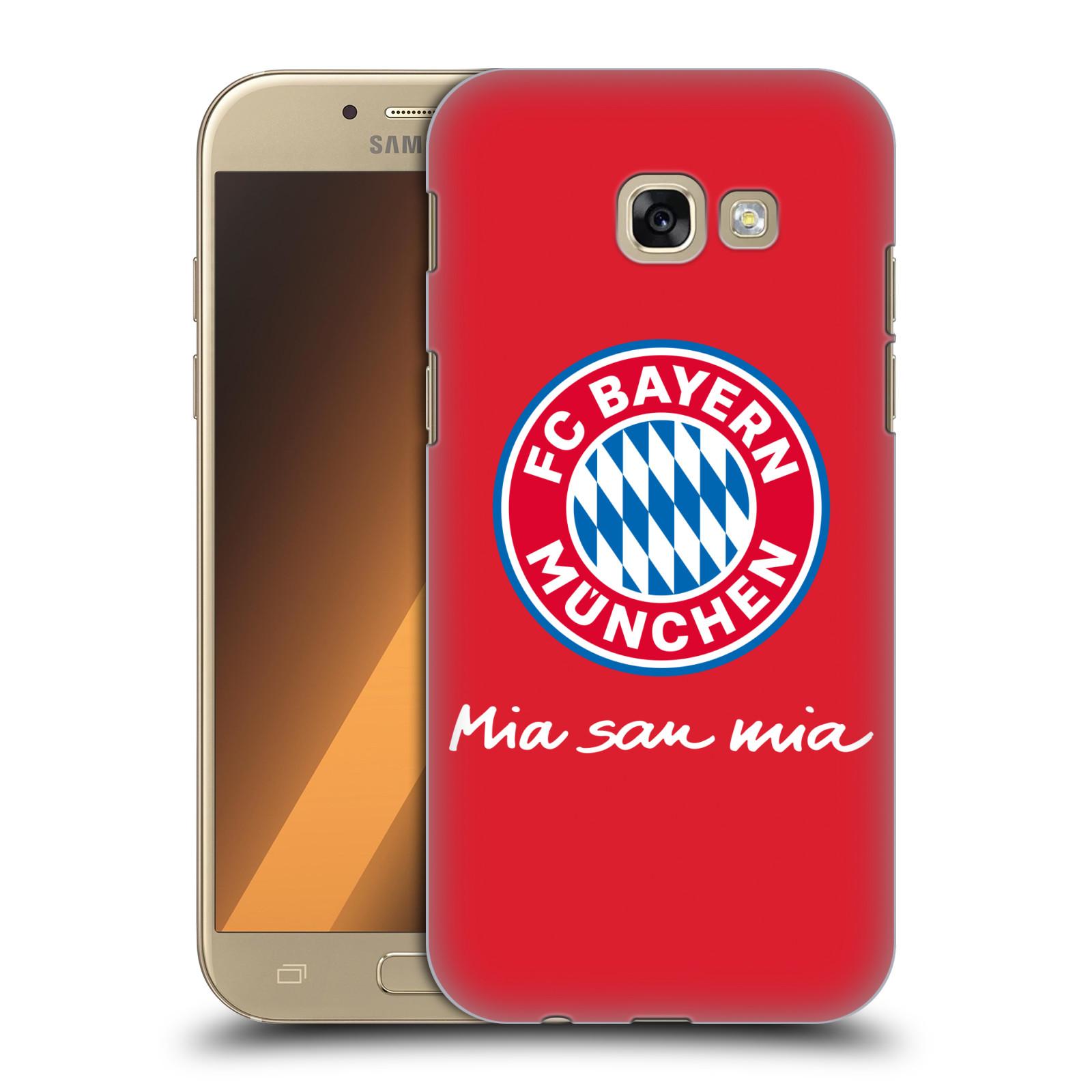 Plastové pouzdro na mobil Samsung Galaxy A5 (2017) - Head Case - FC Bayern Mnichov - Mia san mia