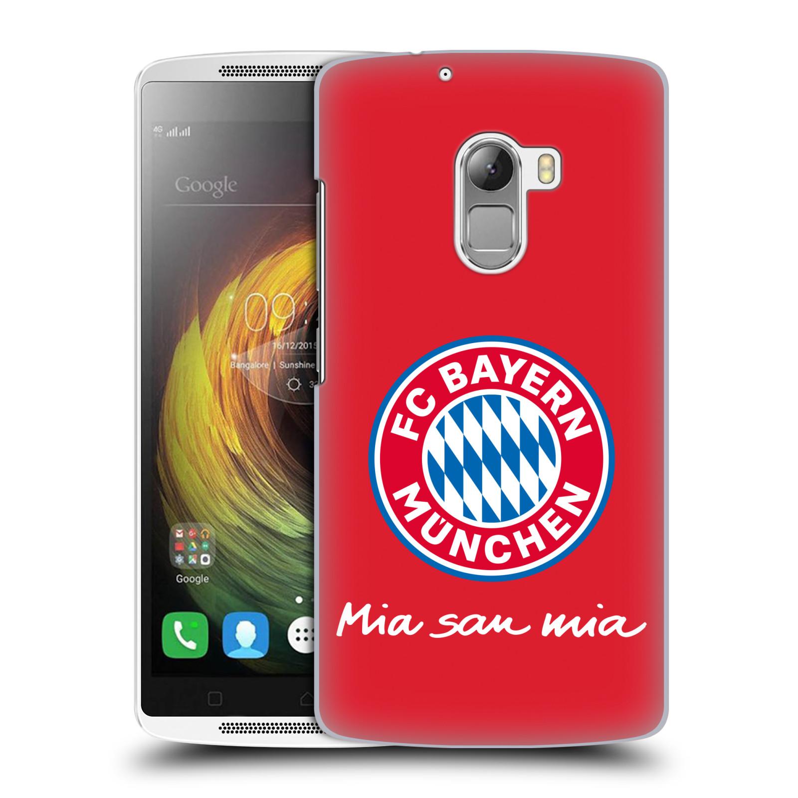 Plastové pouzdro na mobil Lenovo A7010 - Head Case - FC Bayern Mnichov - Mia san mia