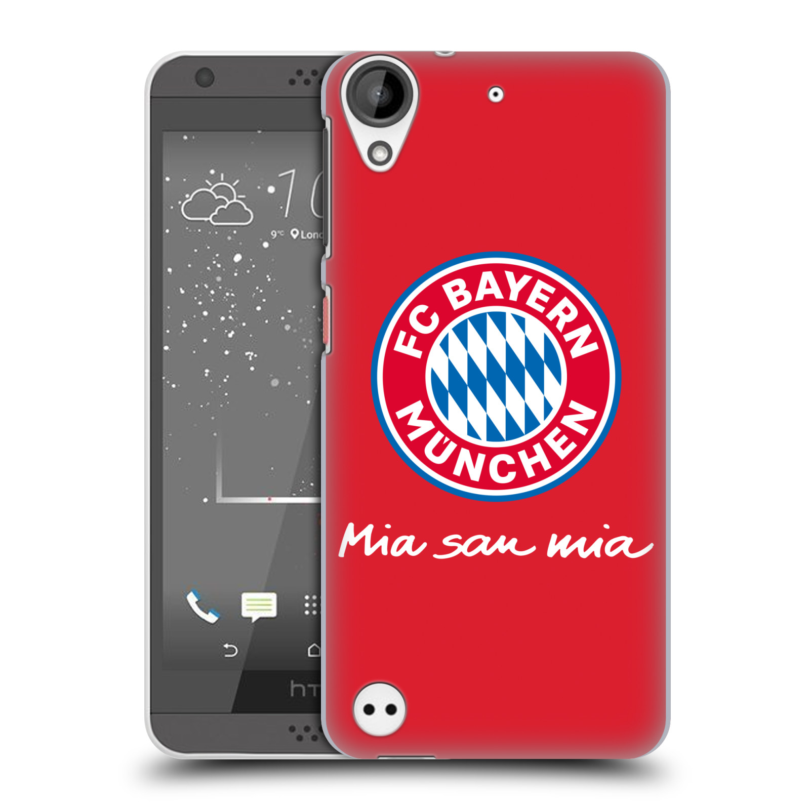 Plastové pouzdro na mobil HTC Desire 530 - Head Case - FC Bayern Mnichov - Mia san mia