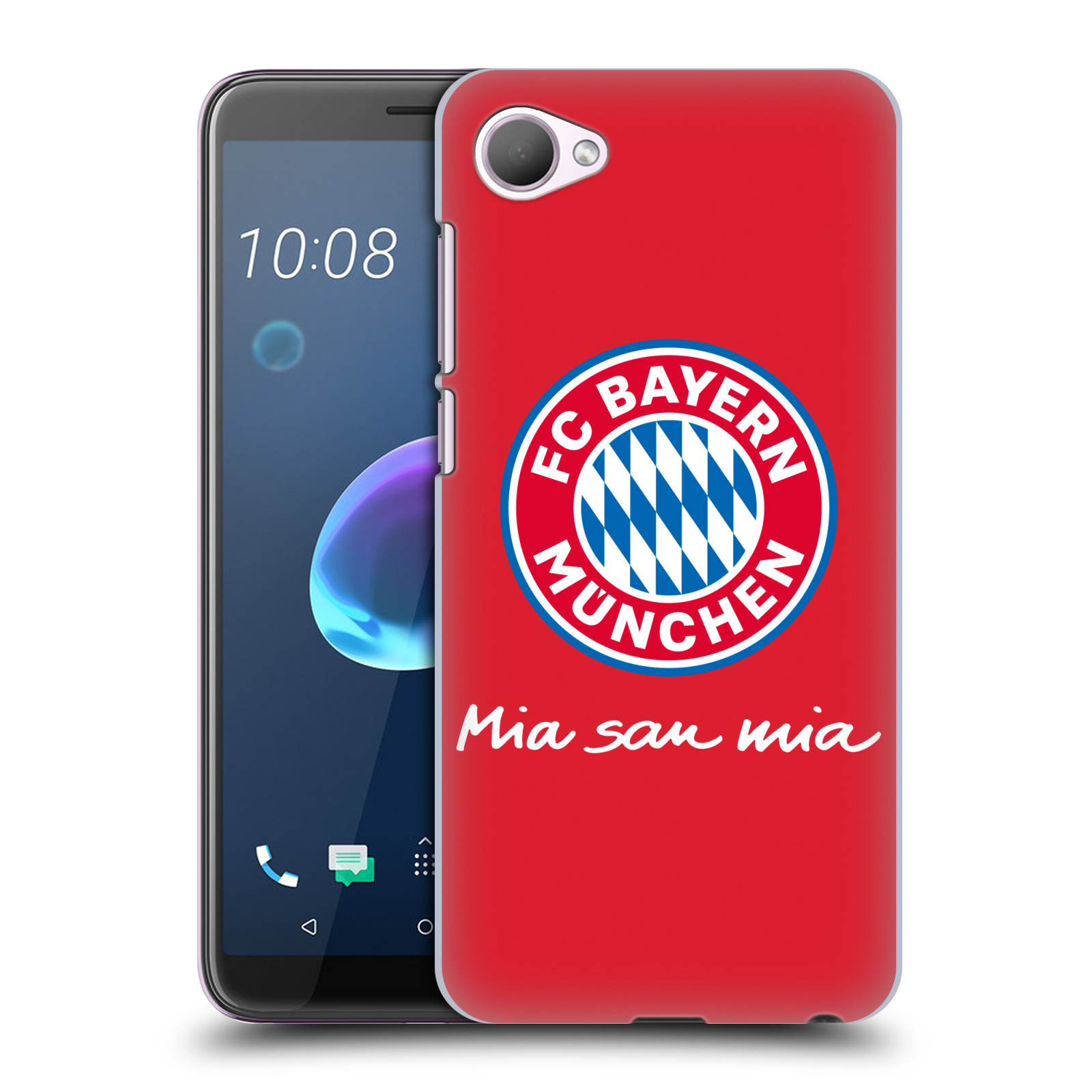 Plastové pouzdro na mobil HTC Desire 12 - Head Case - FC Bayern Mnichov - Mia san mia