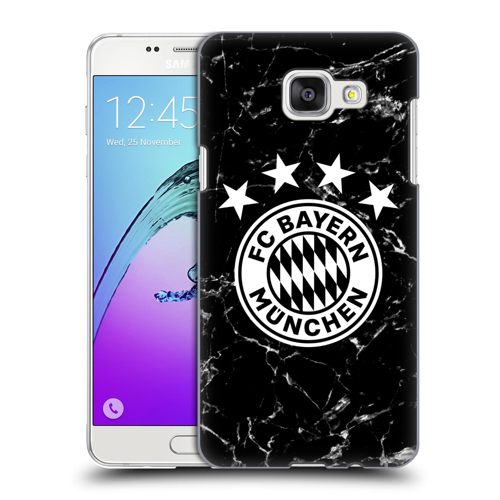 Plastové pouzdro na mobil Samsung Galaxy A5 (2016) - Head Case - FC Bayern Mnichov - Logo mramor