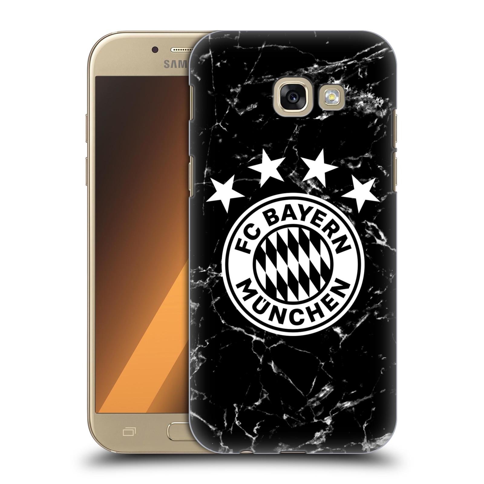 Plastové pouzdro na mobil Samsung Galaxy A5 (2017) - Head Case - FC Bayern Mnichov - Logo mramor