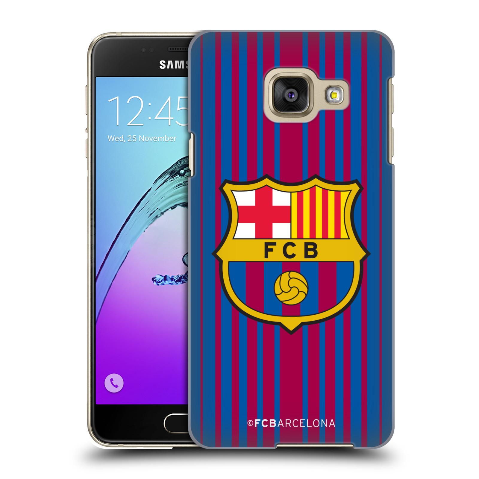 Plastové pouzdro na mobil Samsung Galaxy A3 (2016) - Head Case - FC Barcelona - Logo domácí