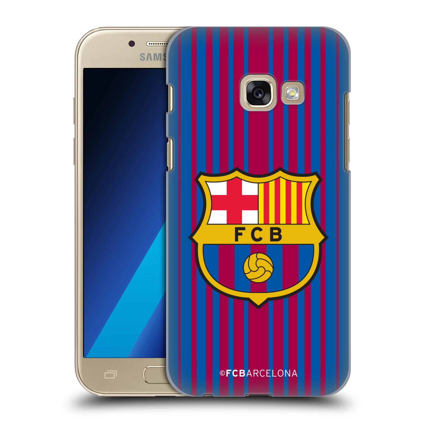 Plastové pouzdro na mobil Samsung Galaxy A3 (2017) - Head Case - FC Barcelona - Logo domácí
