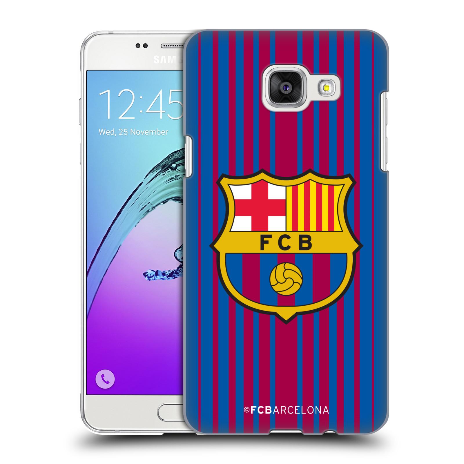 Plastové pouzdro na mobil Samsung Galaxy A5 (2016) - Head Case - FC Barcelona - Logo domácí