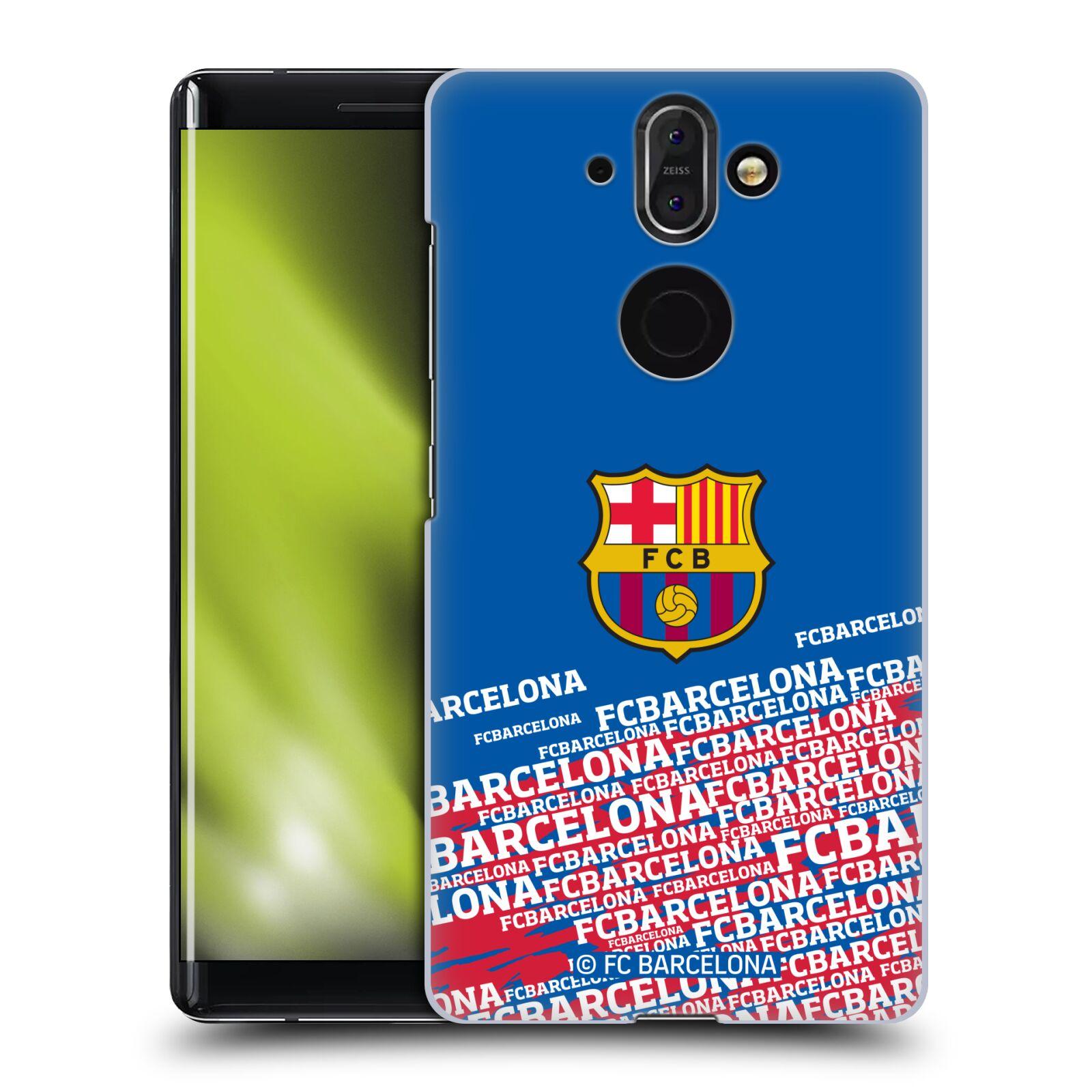 Plastové pouzdro na mobil Nokia 8 Sirocco - Head Case - FC Barcelona - Impact