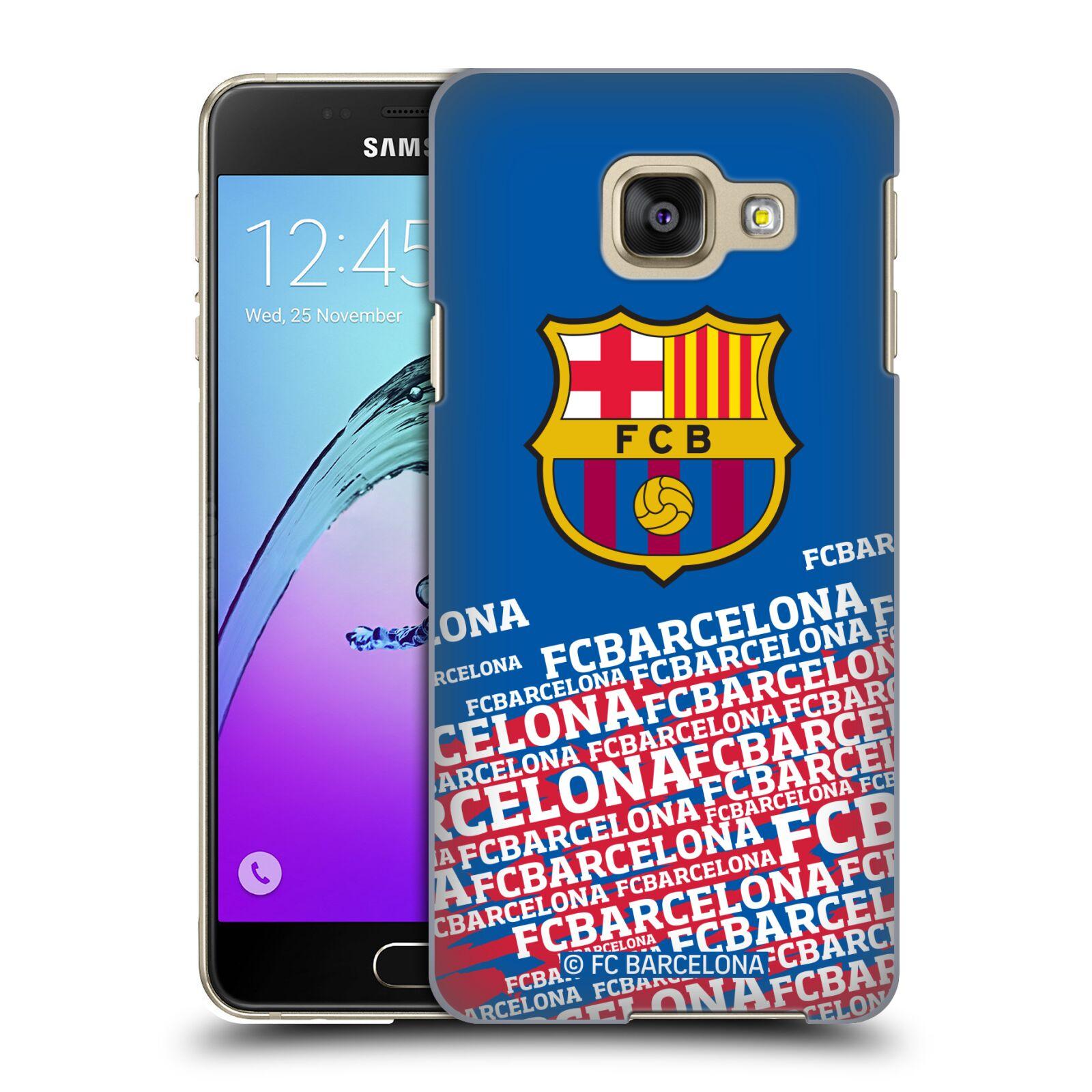 Plastové pouzdro na mobil Samsung Galaxy A3 (2016) - Head Case - FC Barcelona - Impact