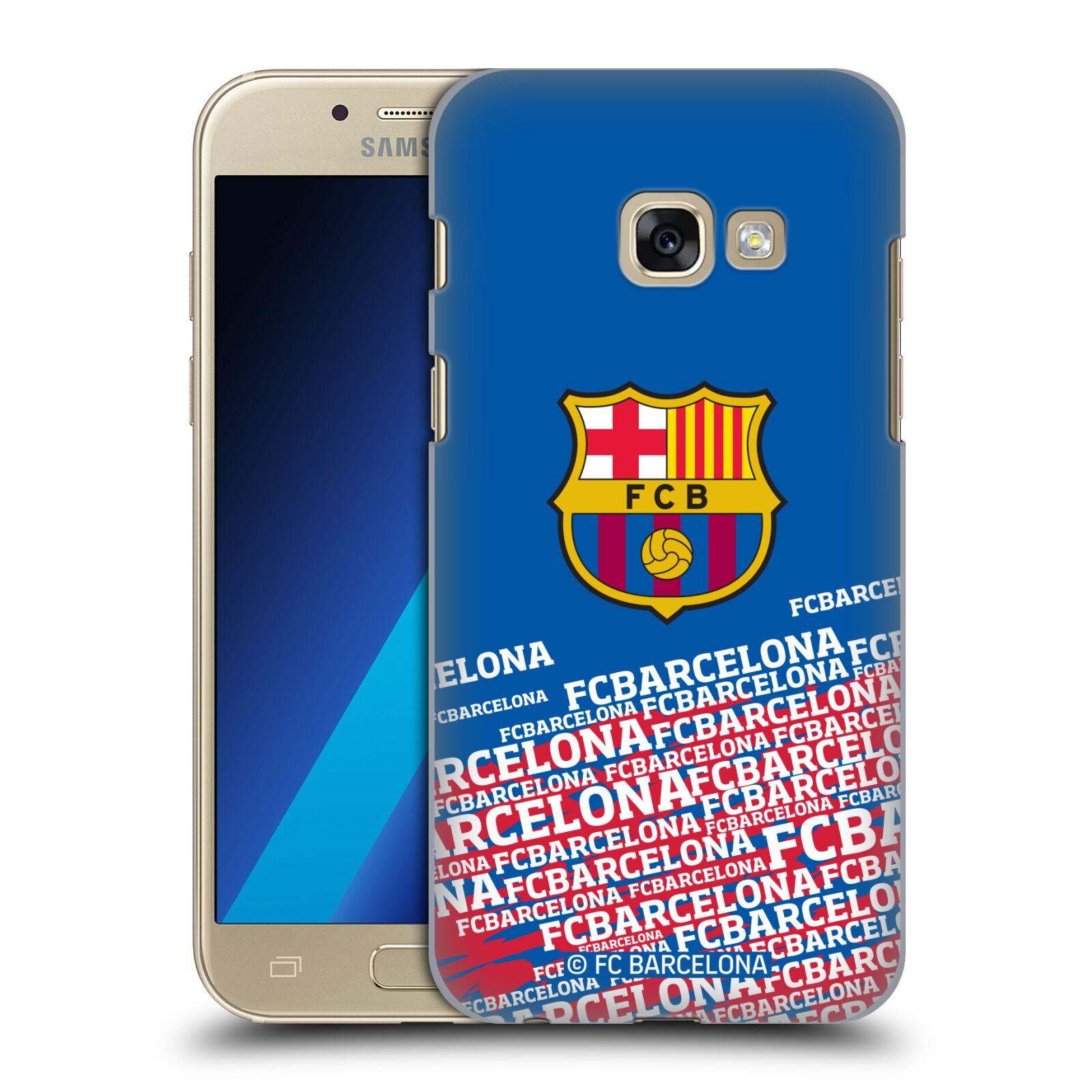 Plastové pouzdro na mobil Samsung Galaxy A3 (2017) - Head Case - FC Barcelona - Impact
