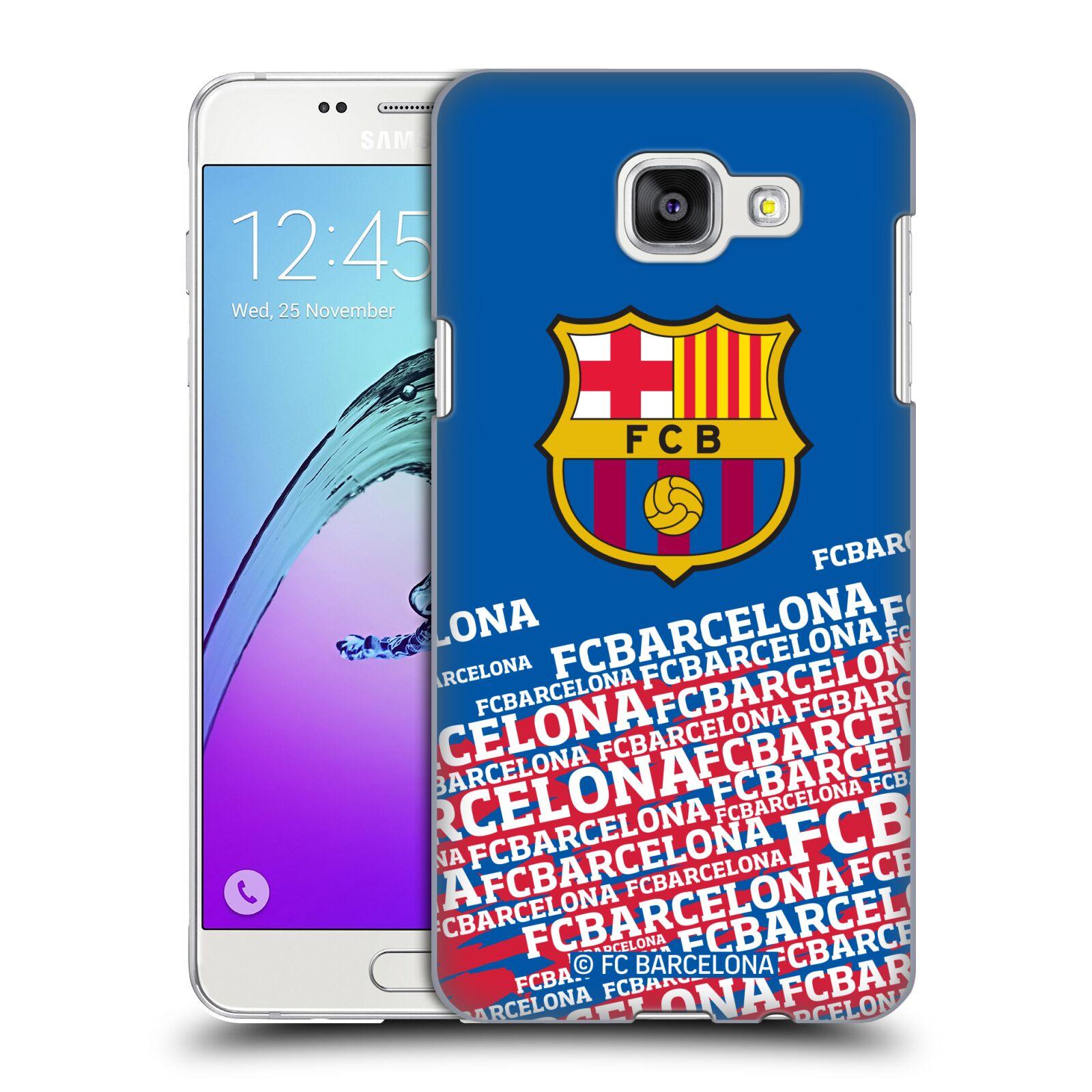 Plastové pouzdro na mobil Samsung Galaxy A5 (2016) - Head Case - FC Barcelona - Impact