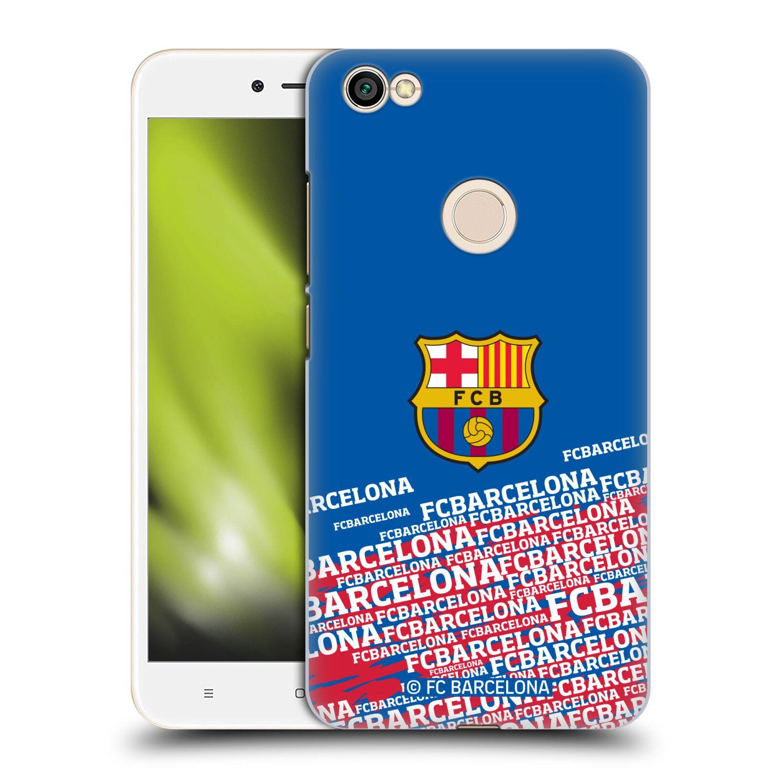 Plastové pouzdro na mobil Xiaomi Redmi Note 5A - Head Case - FC Barcelona - Impact