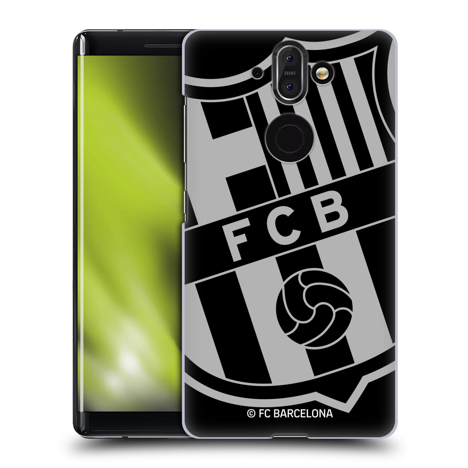 Plastové pouzdro na mobil Nokia 8 Sirocco - Head Case - FC Barcelona - Velké logo
