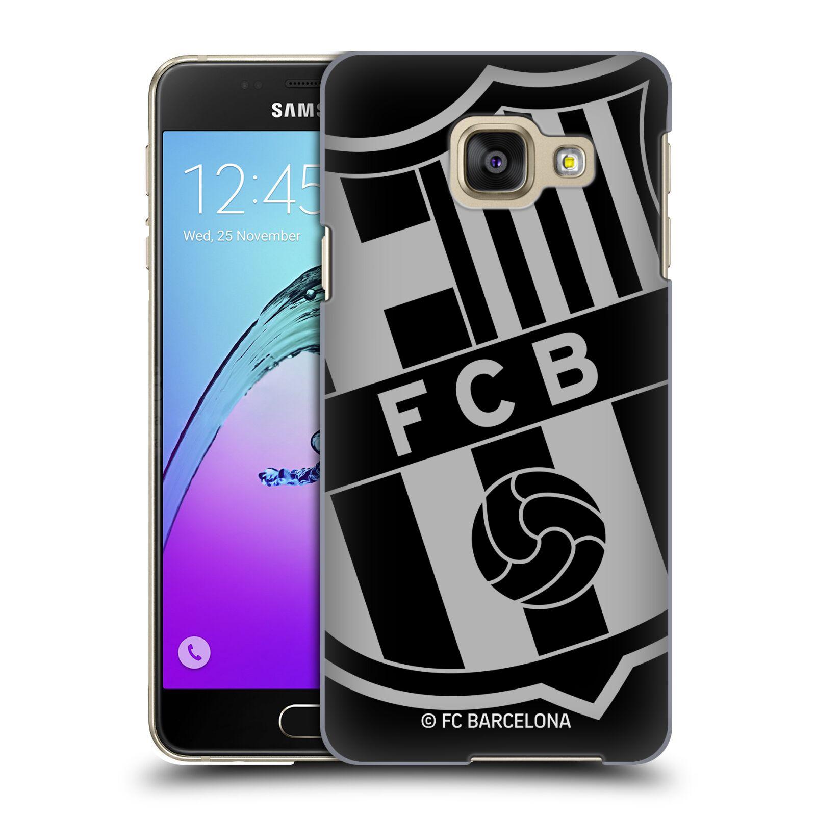 Plastové pouzdro na mobil Samsung Galaxy A3 (2016) - Head Case - FC Barcelona - Velké logo