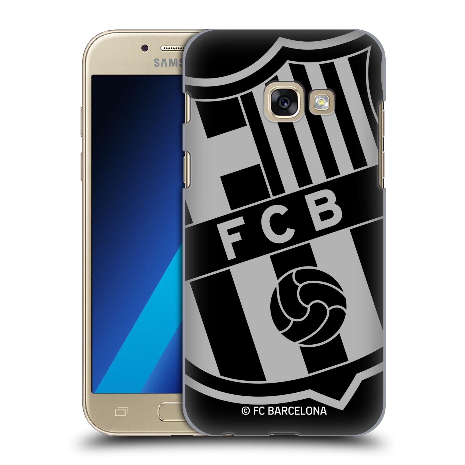 Plastové pouzdro na mobil Samsung Galaxy A3 (2017) - Head Case - FC Barcelona - Velké logo