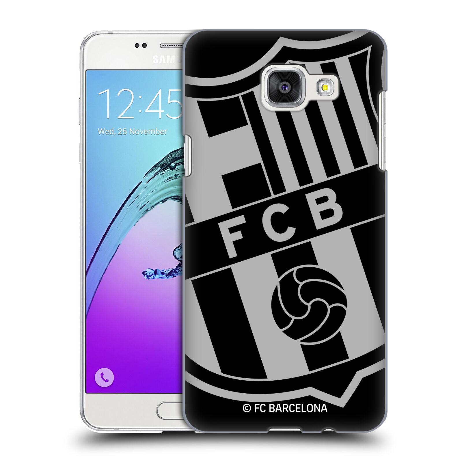 Plastové pouzdro na mobil Samsung Galaxy A5 (2016) - Head Case - FC Barcelona - Velké logo