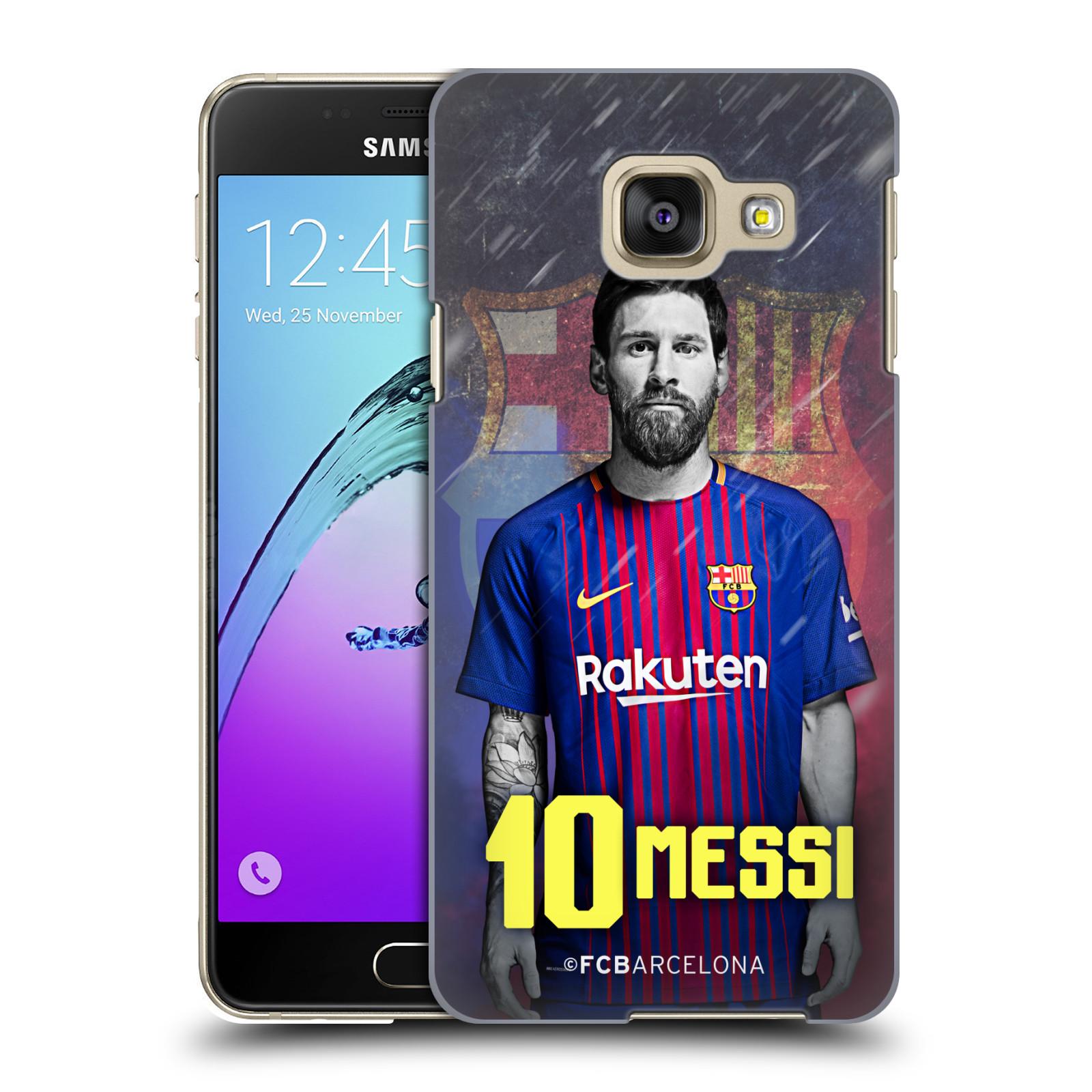 Plastové pouzdro na mobil Samsung Galaxy A3 (2016) - Head Case - FC Barcelona - Lionel Messi 10