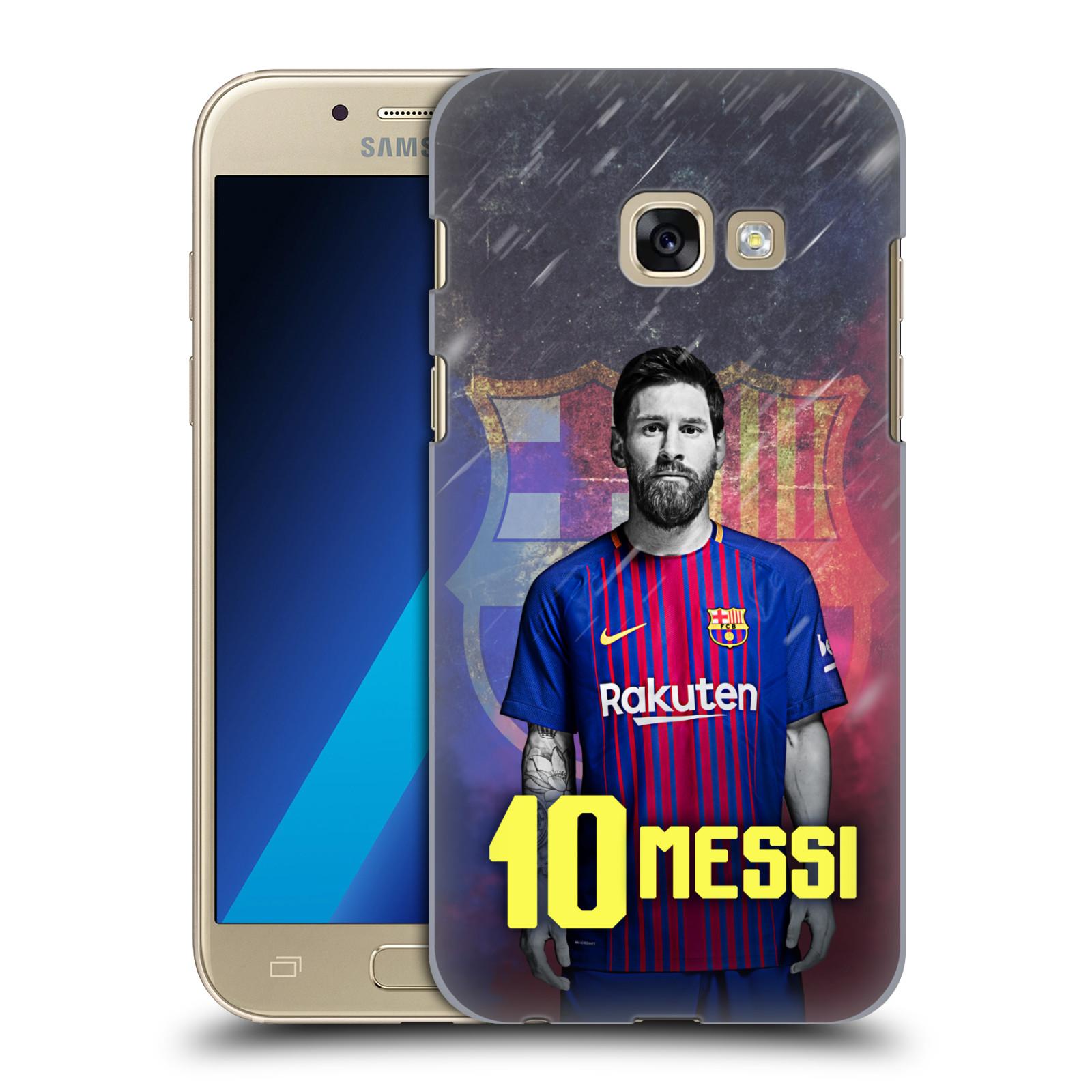 Plastové pouzdro na mobil Samsung Galaxy A3 (2017) - Head Case - FC Barcelona - Lionel Messi 10