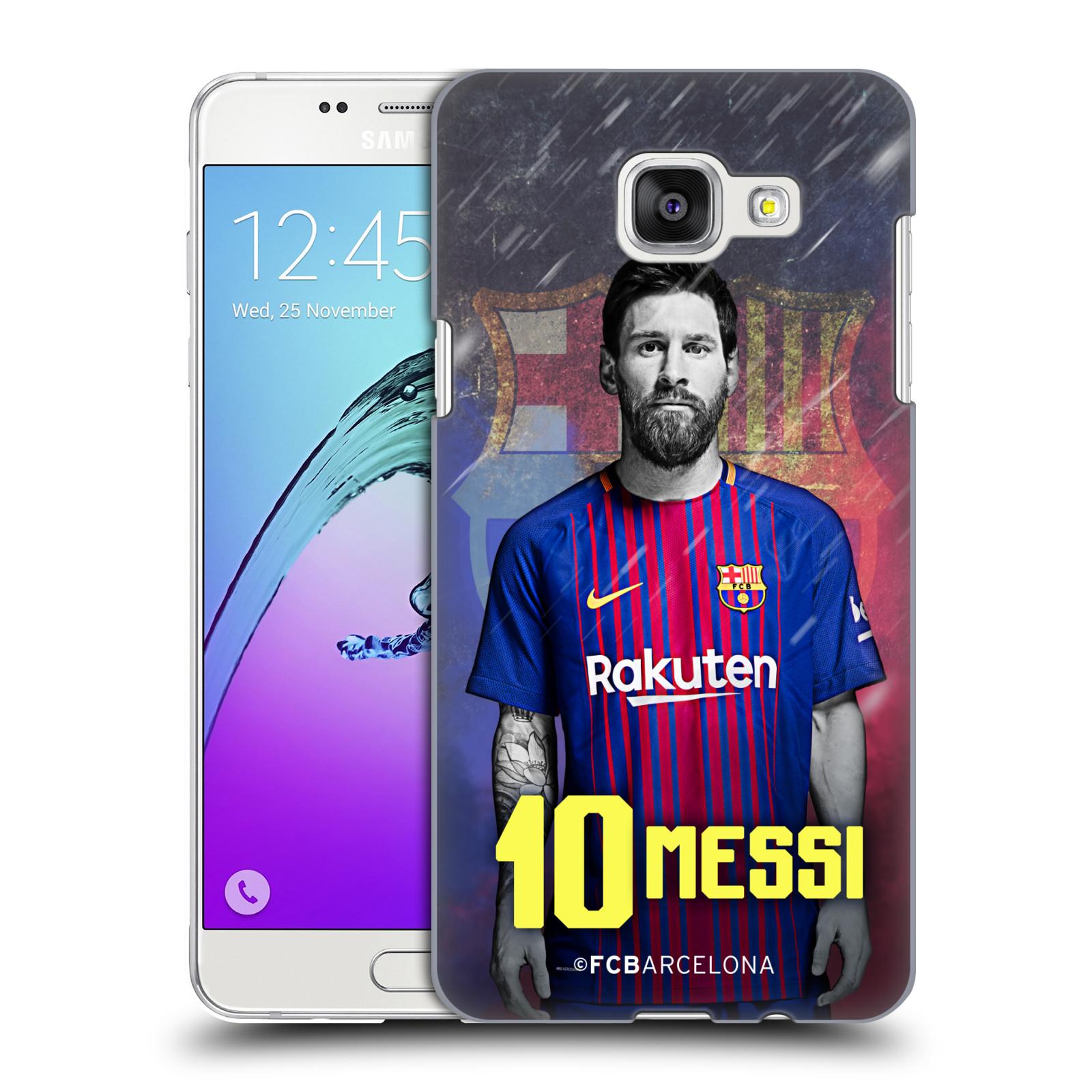 Plastové pouzdro na mobil Samsung Galaxy A5 (2016) - Head Case - FC Barcelona - Lionel Messi 10