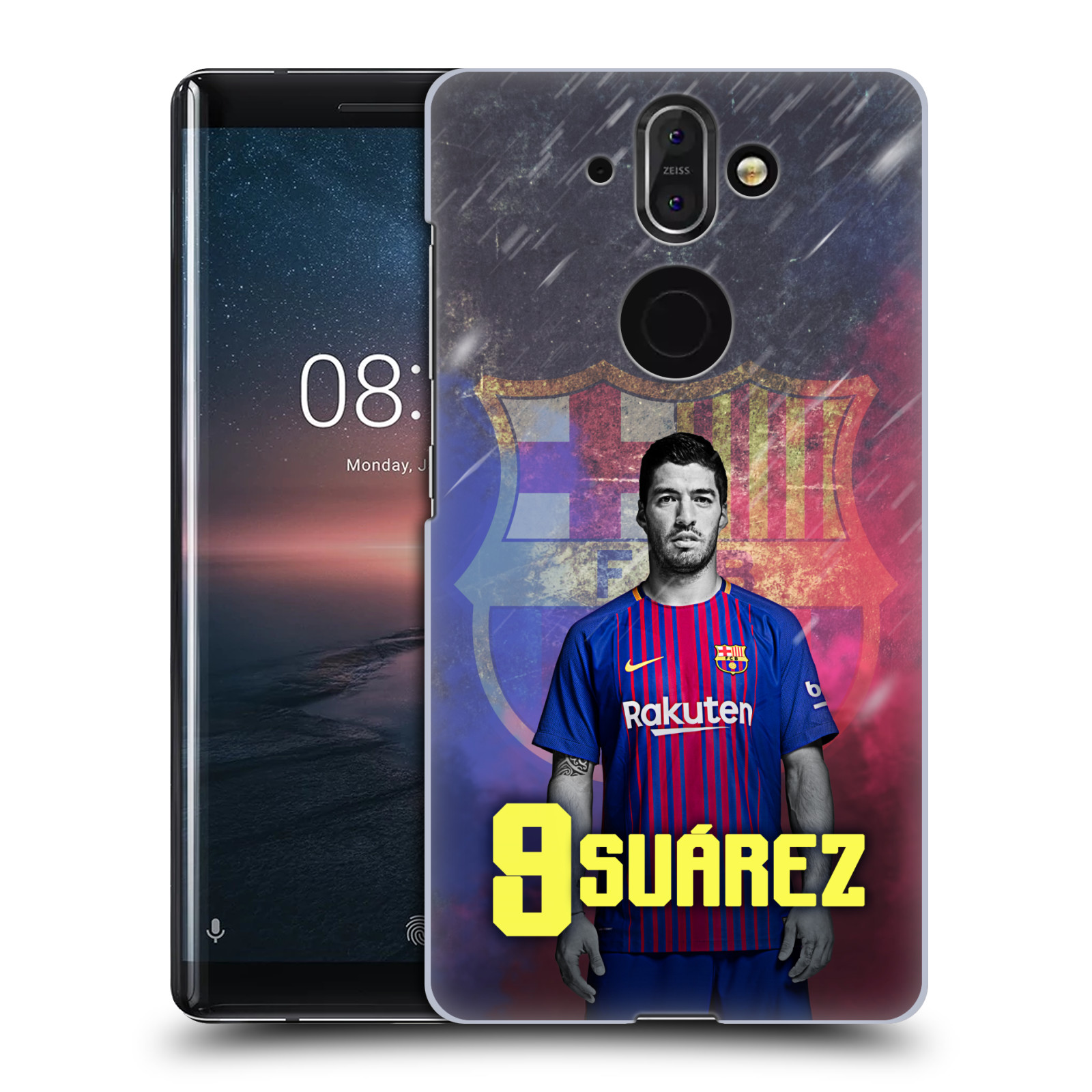 Plastové pouzdro na mobil Nokia 8 Sirocco - Head Case - FC Barcelona - Luis Suárez 9