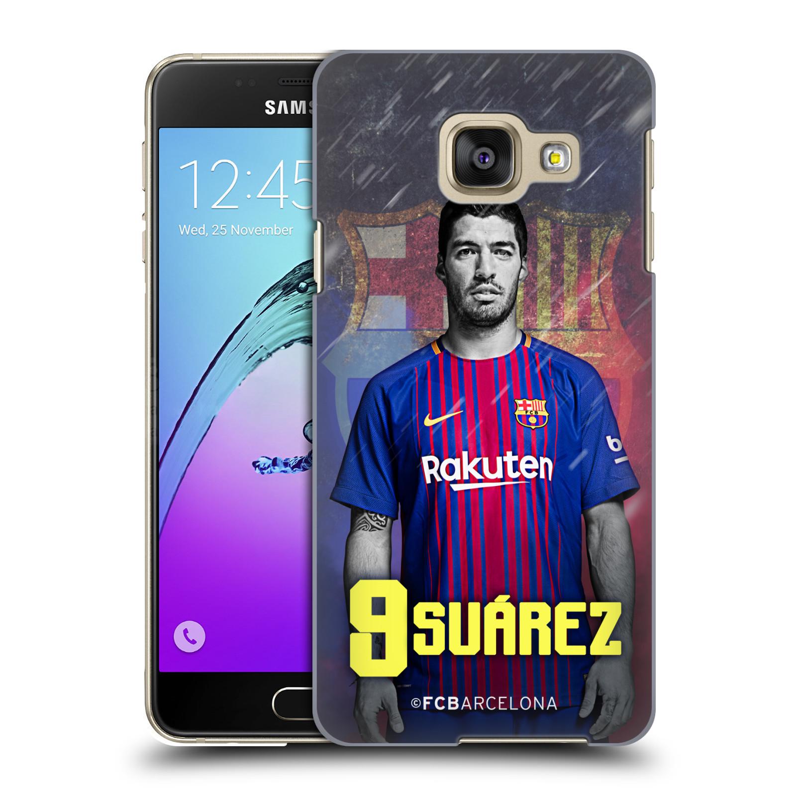 Plastové pouzdro na mobil Samsung Galaxy A3 (2016) - Head Case - FC Barcelona - Luis Suárez 9