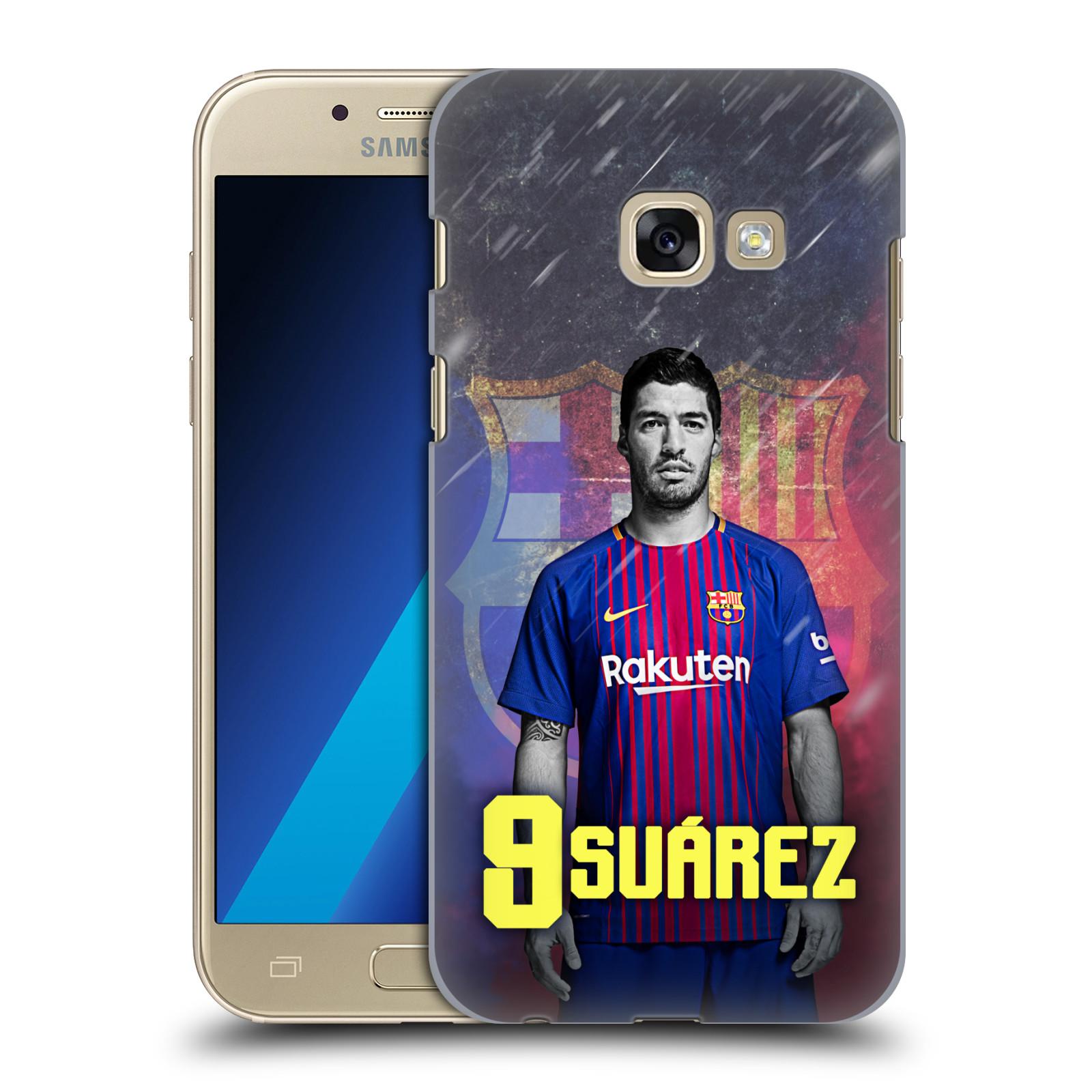 Plastové pouzdro na mobil Samsung Galaxy A3 (2017) - Head Case - FC Barcelona - Luis Suárez 9