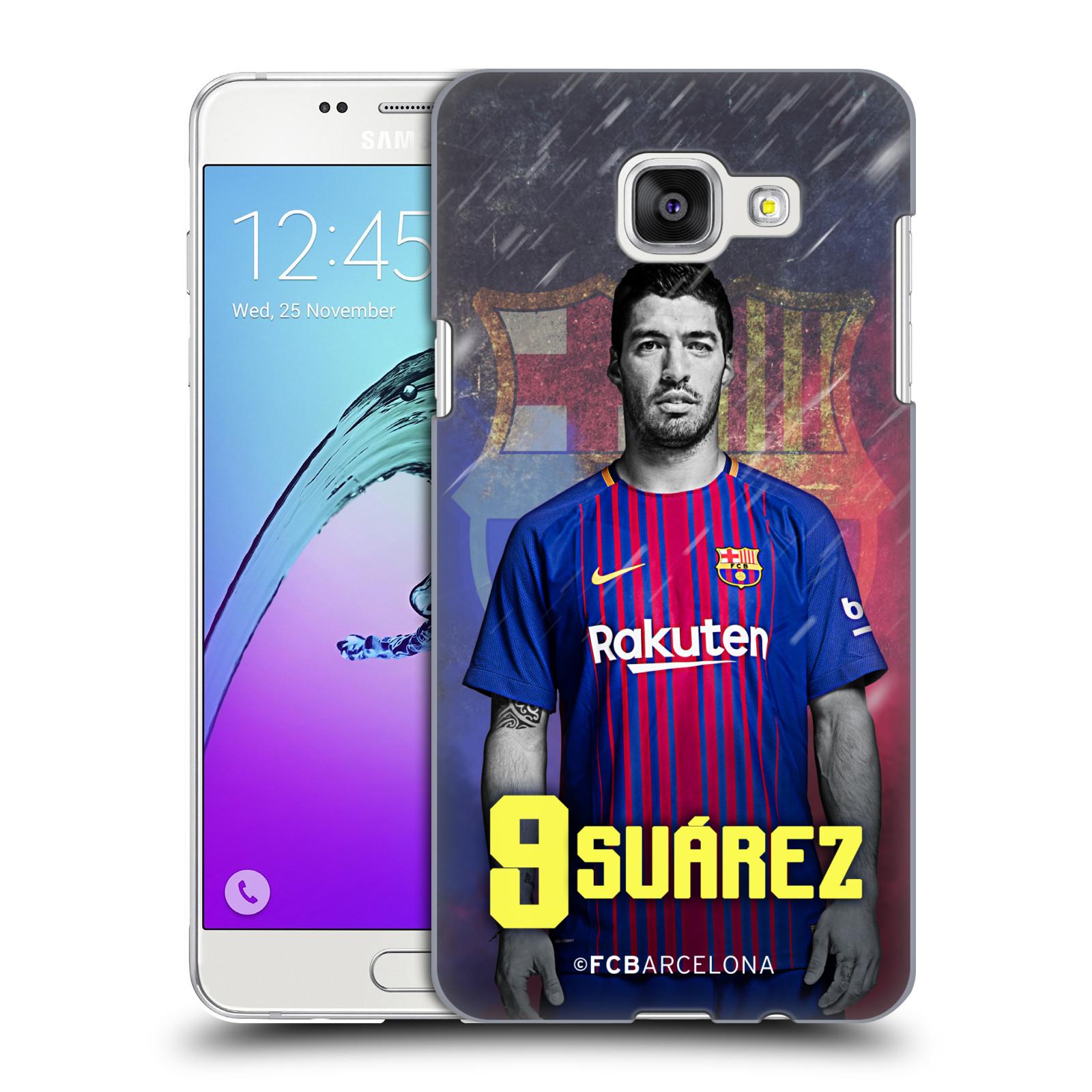 Plastové pouzdro na mobil Samsung Galaxy A5 (2016) - Head Case - FC Barcelona - Luis Suárez 9