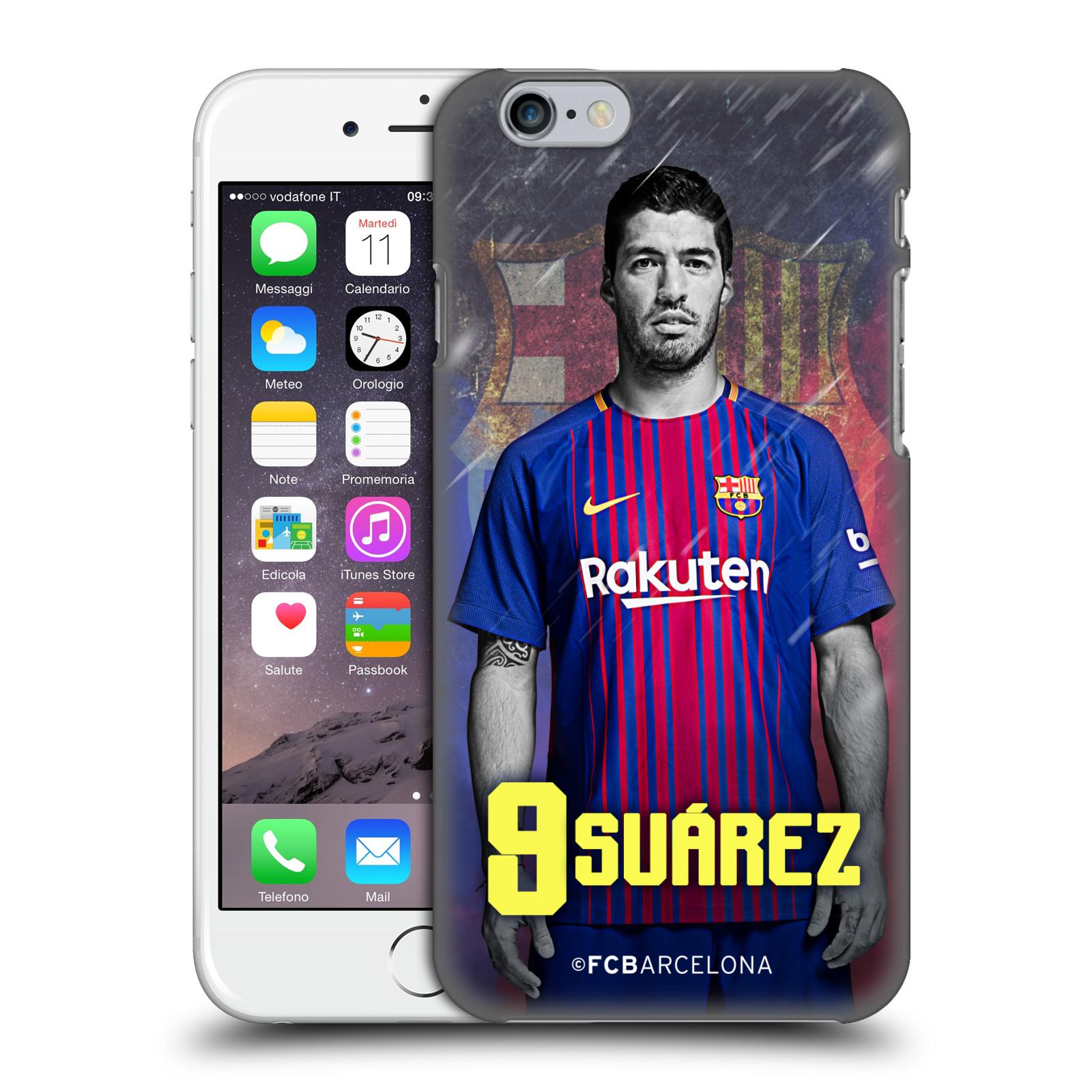 Plastové pouzdro na mobil Apple iPhone 6 - Head Case - FC Barcelona - Luis  Suárez 9 0b7084ff135