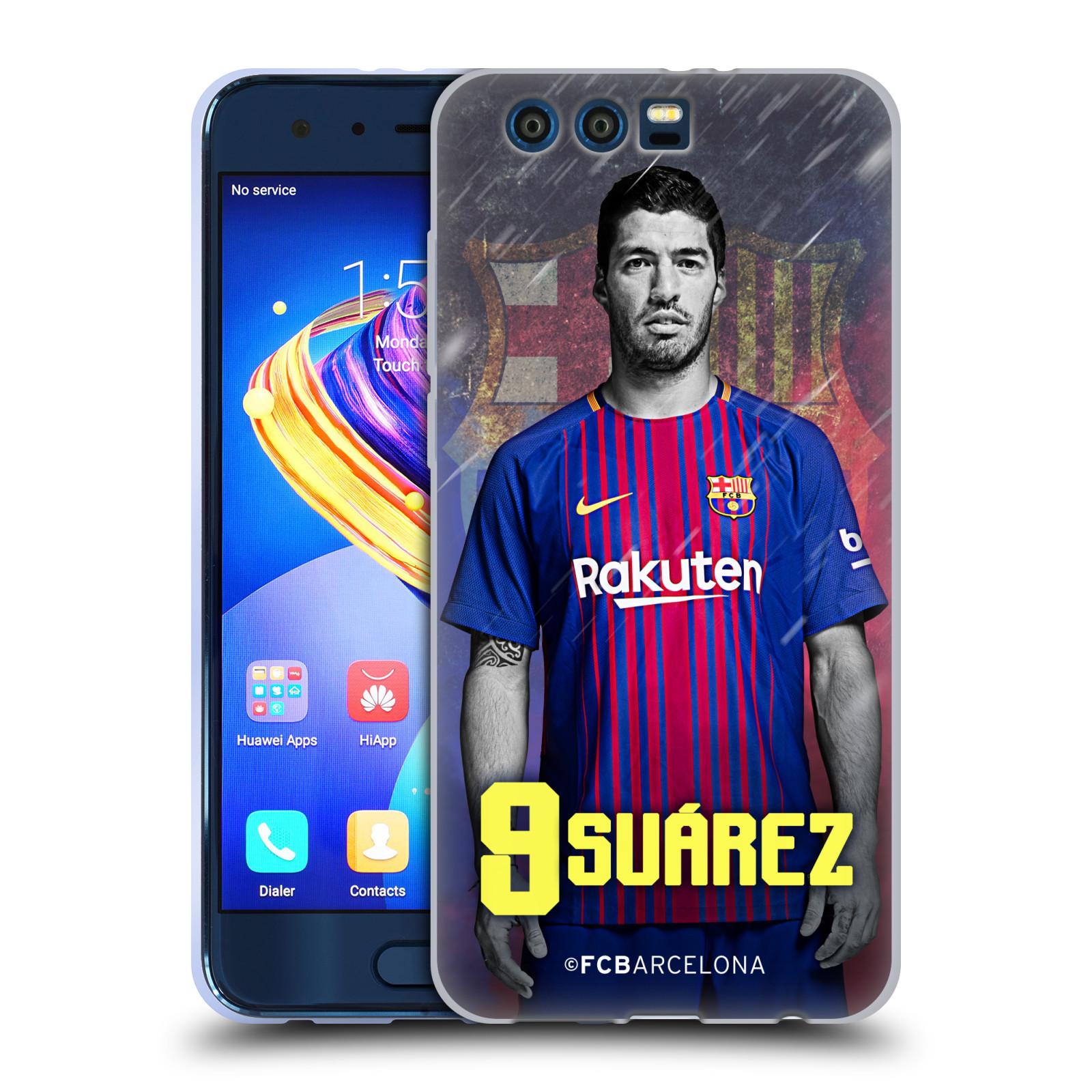 Silikonové pouzdro na mobil Honor 9 - Head Case - FC Barcelona - Luis Suárez 9