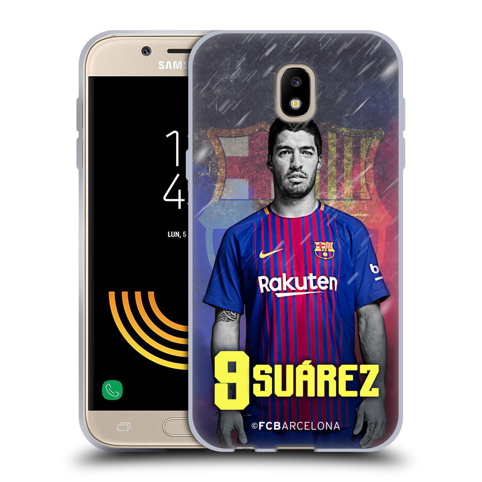 Silikonové pouzdro na mobil Samsung Galaxy J5 (2017) - Head Case - FC Barcelona - Luis Suárez 9